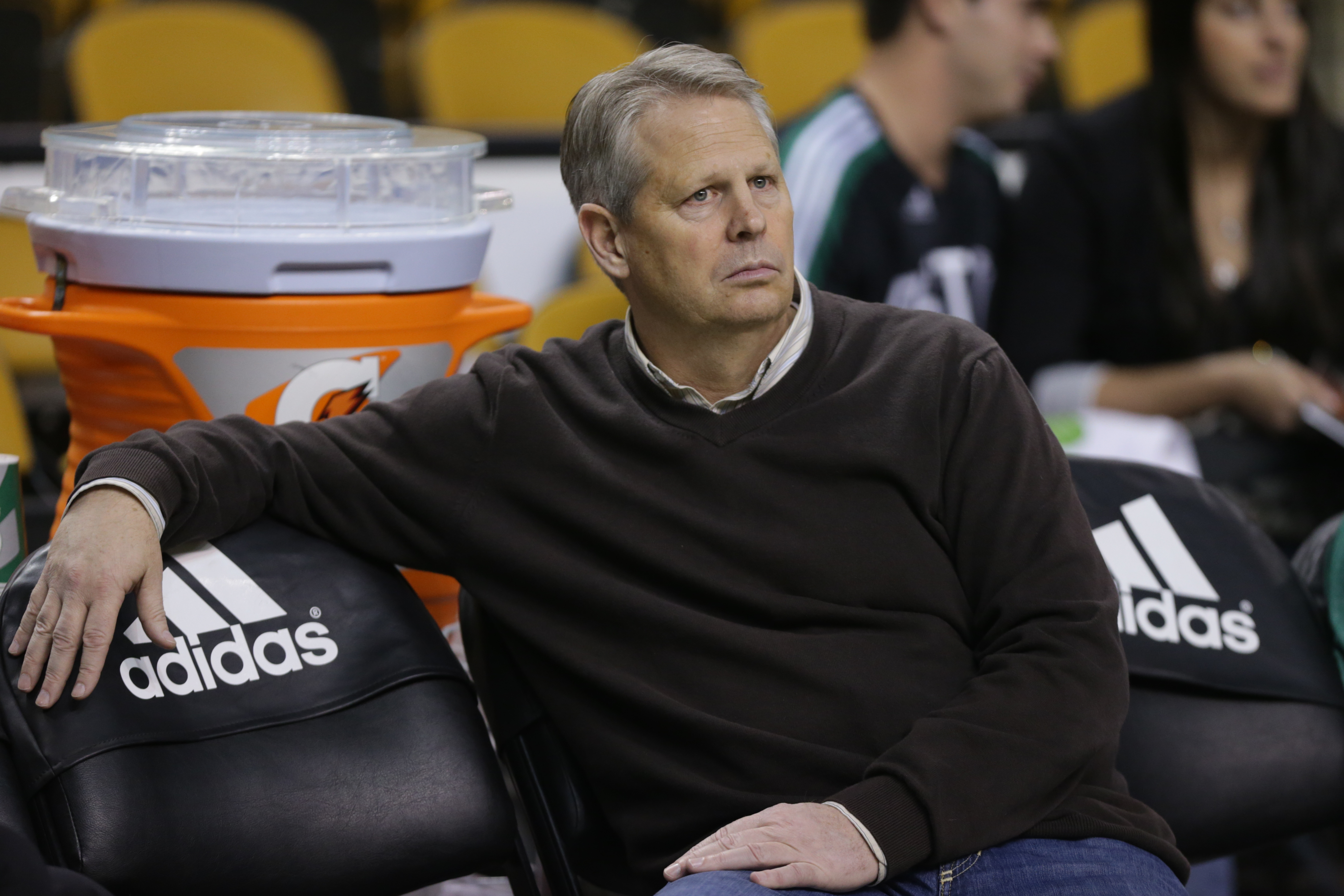Danny Ainge's big plans in Boston are falling apart. (Getty)