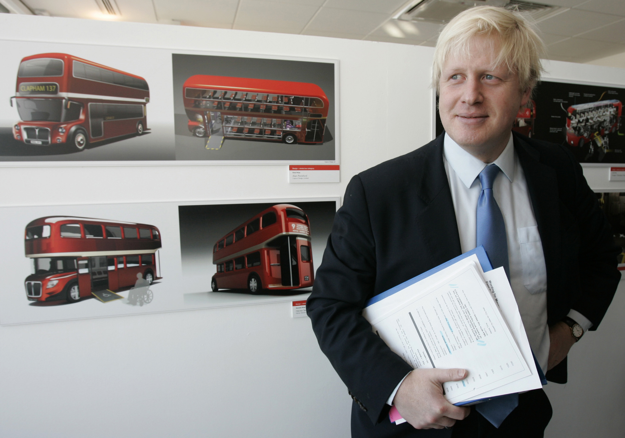 Boris Johnson claims he 'makes models of buses' and paints