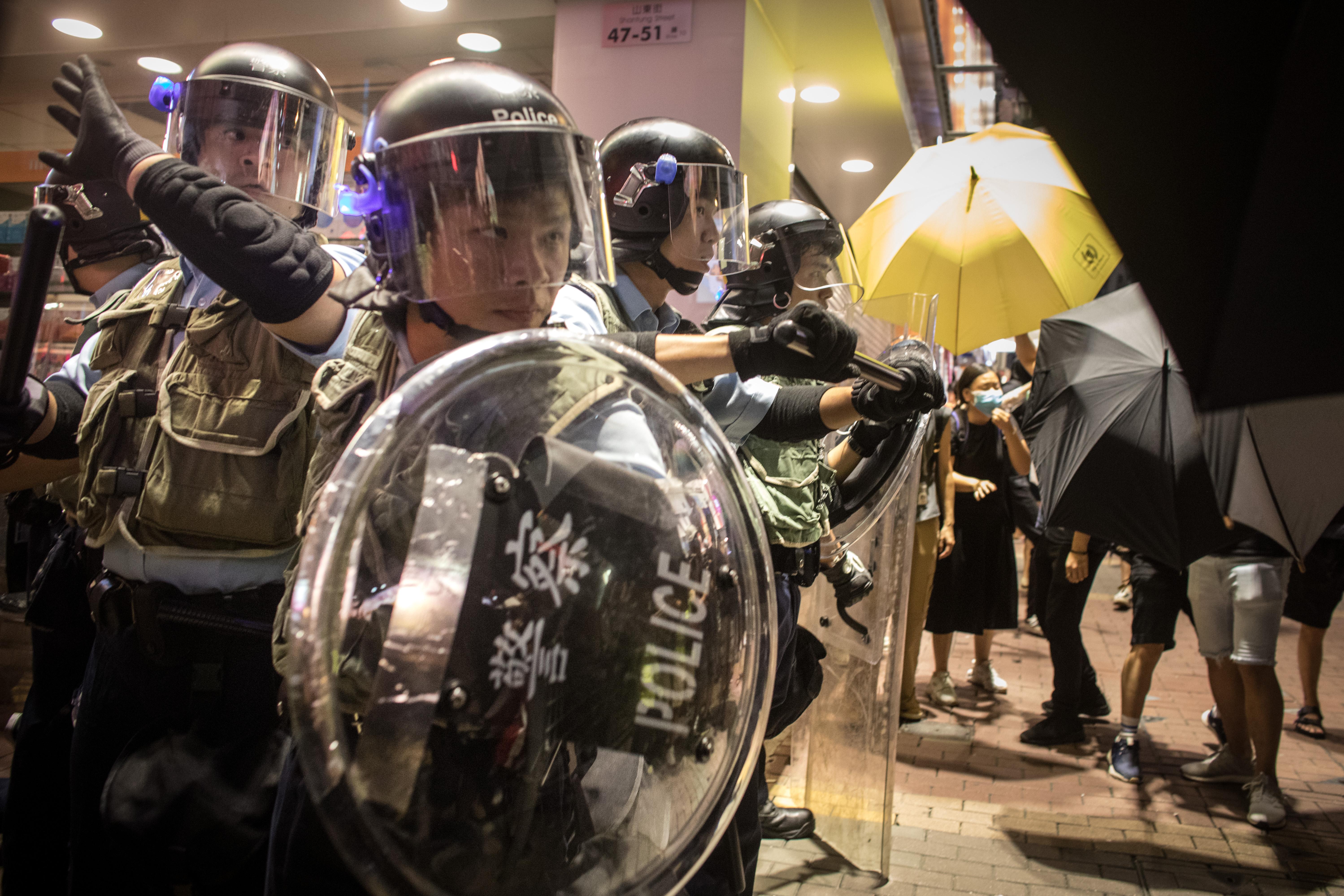 香港市民,你對警隊有信心嗎?