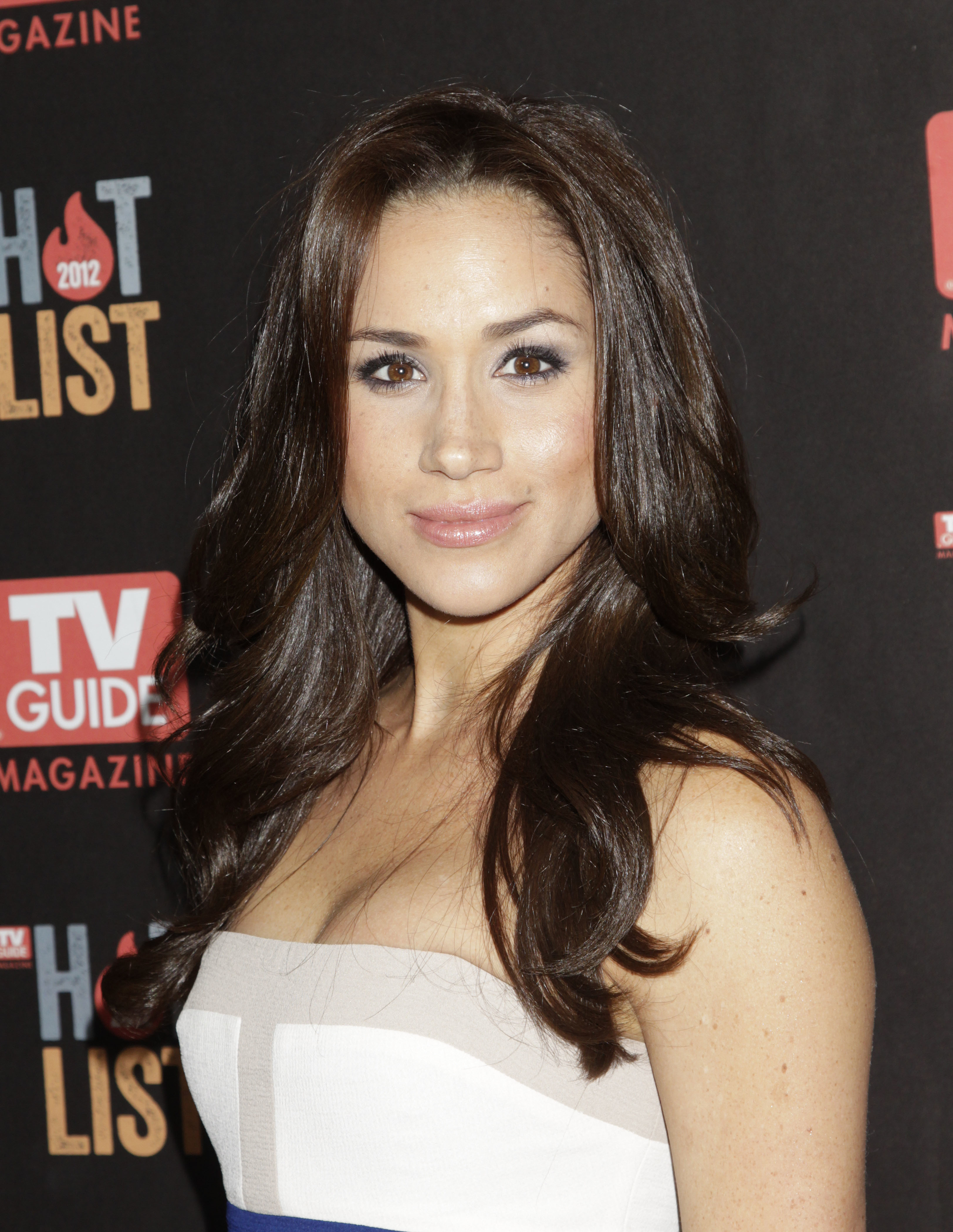 Meghan Markle arrives at the TV Guide Magazine Annual Hot List Party on November 12, 2012, in West Hollywood, California.