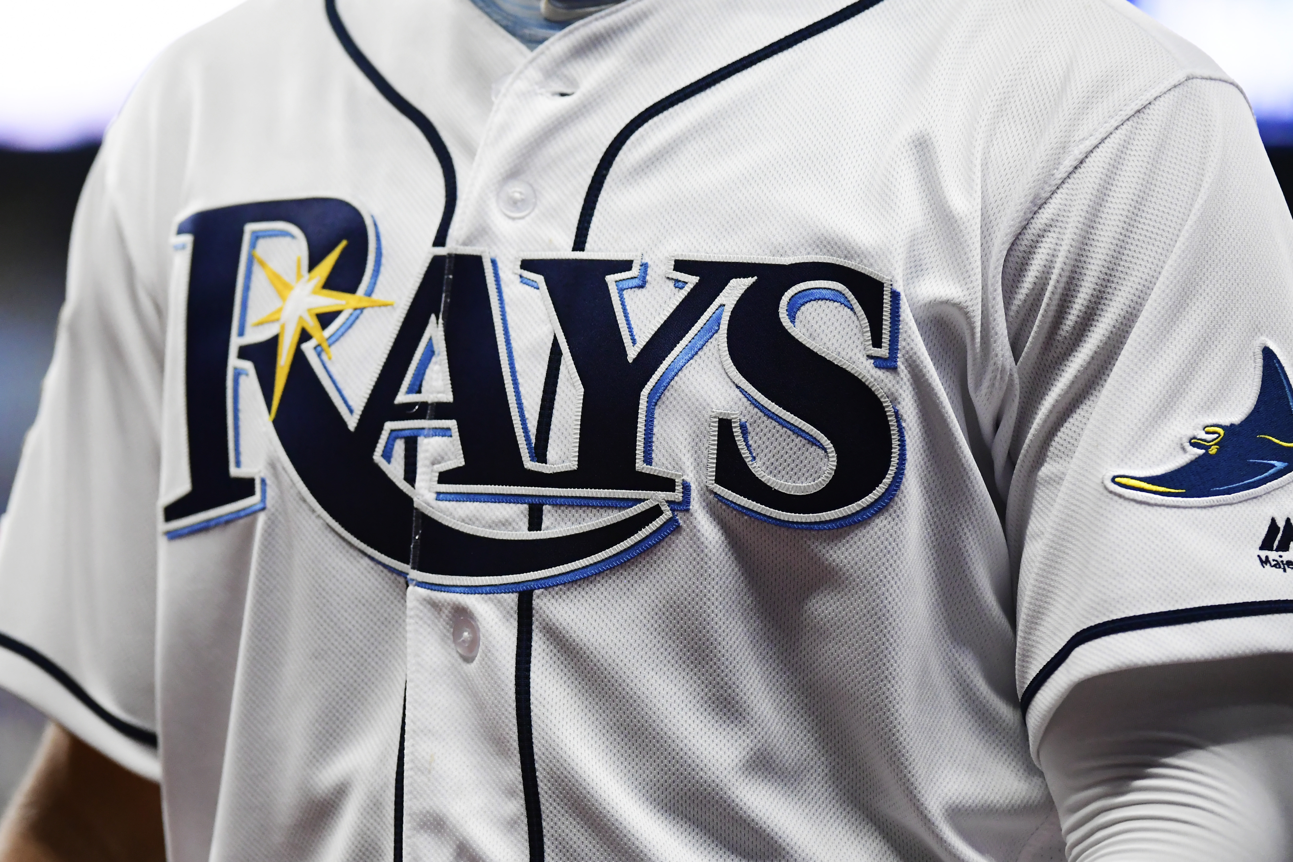The wife and child of Rays prospect Blake Bivens have reportedly been killed in a triple-homicide in Virginia. (Getty)