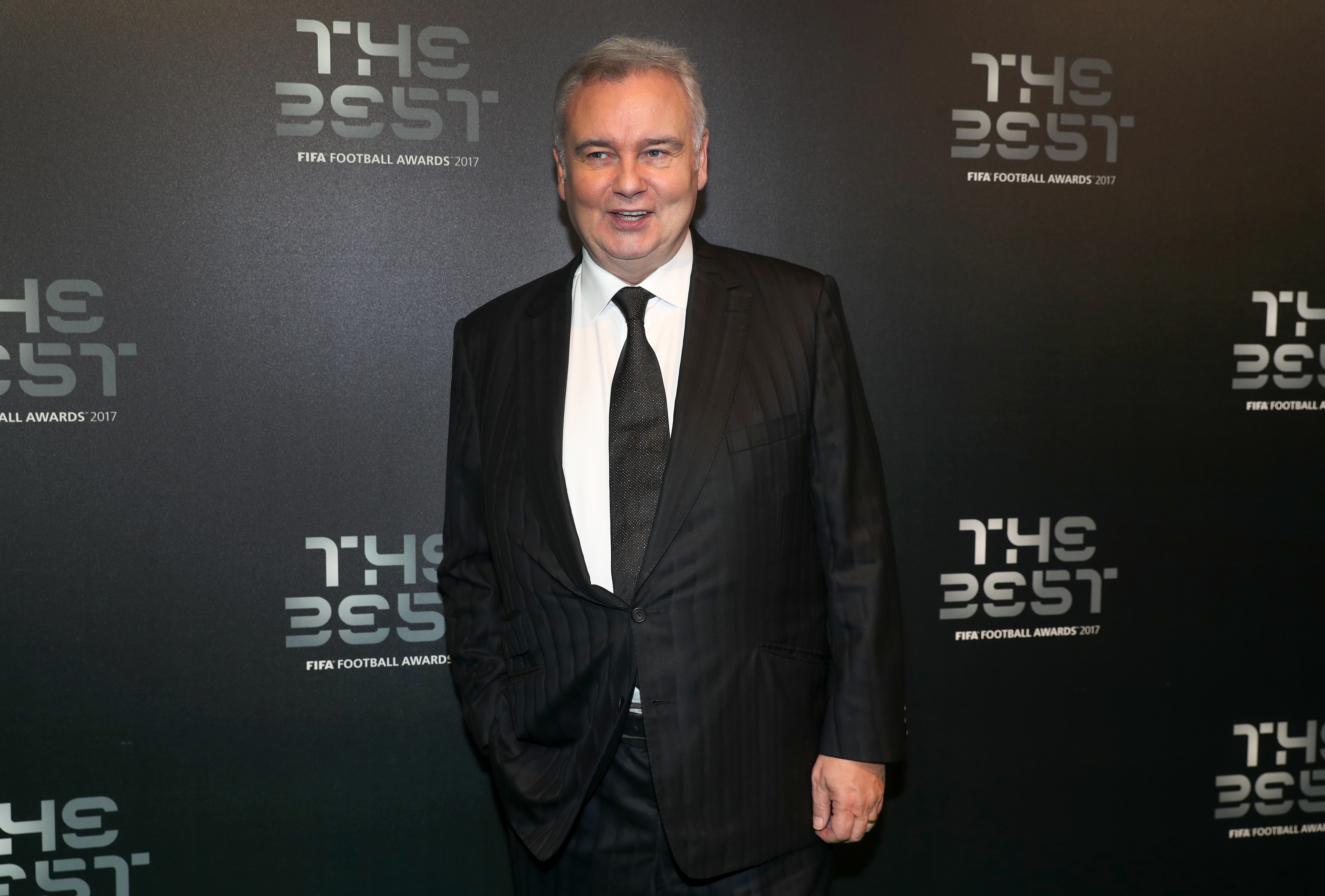 Eamonn Holmes during the Best FIFA Football Awards 2017 at the Palladium Theatre, London.
