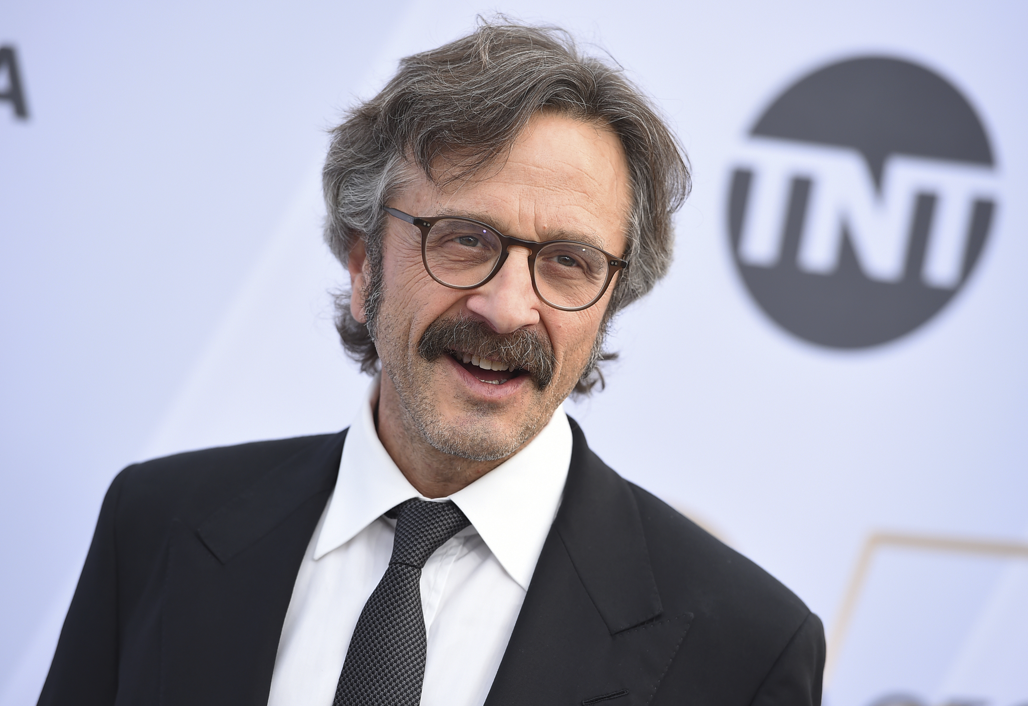 Marc Maron arrives at the 25th annual Screen Actors Guild Awards at the Shrine Auditorium & Expo Hall on Sunday, Jan. 27, 2019, in Los Angeles. (Photo by Jordan Strauss/Invision/AP)