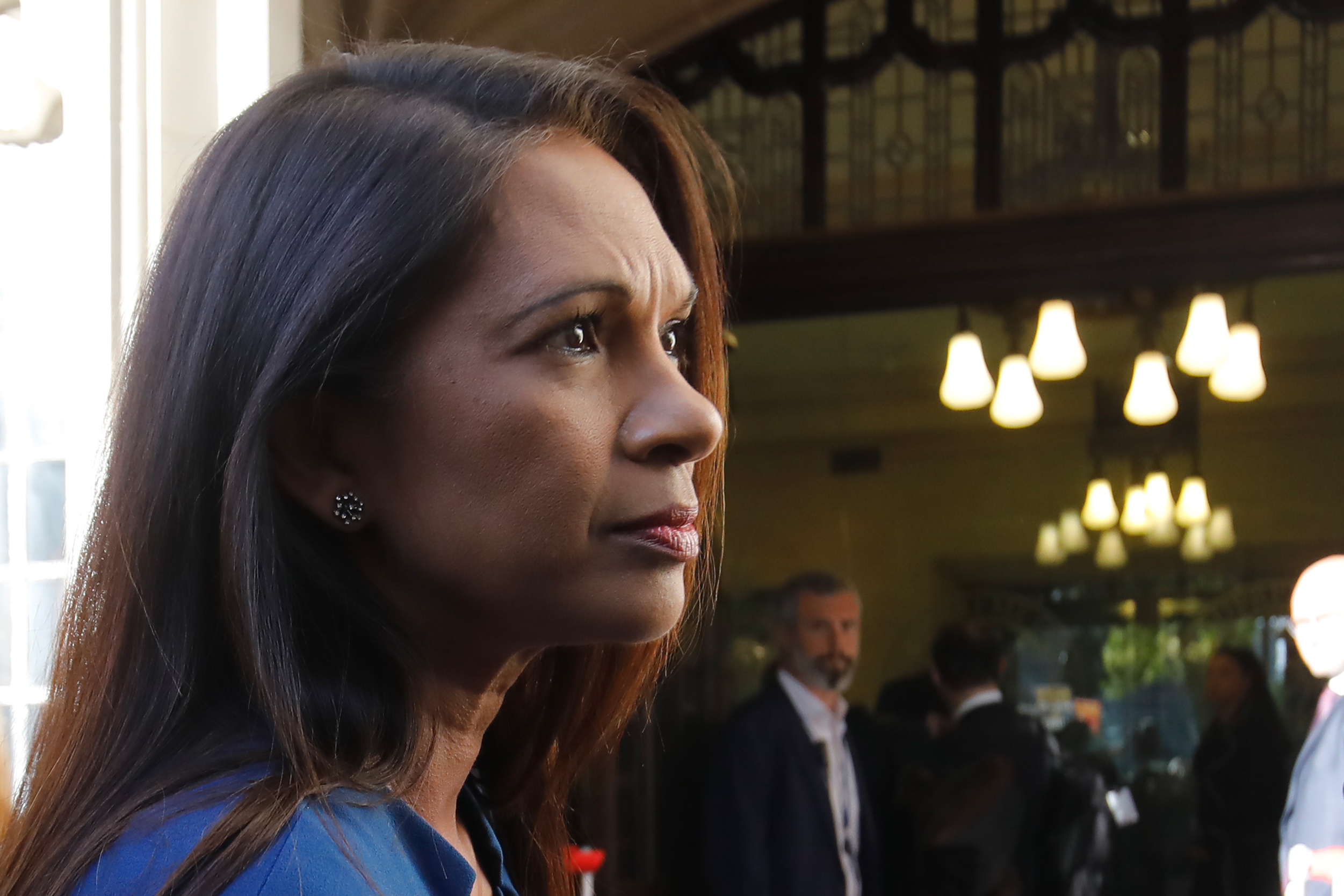 Businesswoman Gina Miller arrives at the Supreme Court on Tuesday