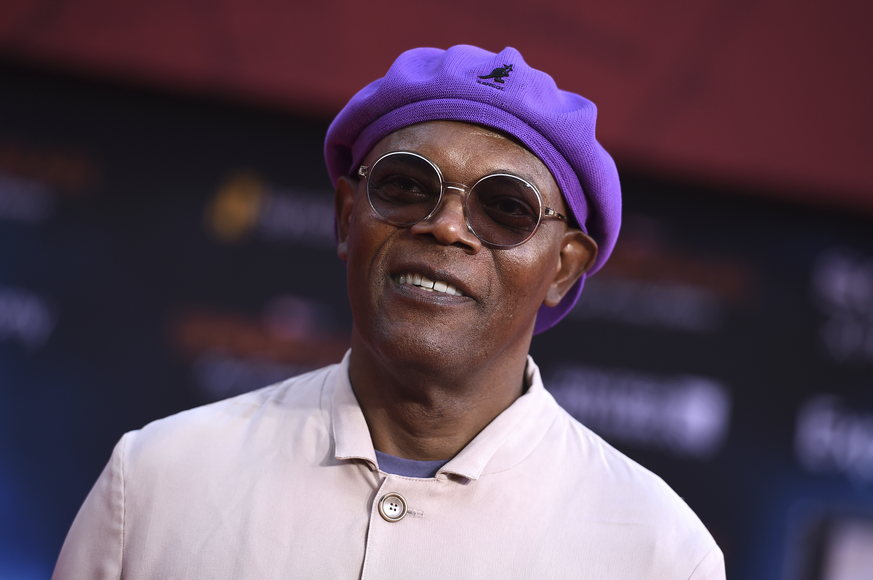 """Samuel L. Jackson arrives at the world premiere of """"Spider-Man: Far From Home"""" on Wednesday, June 26, 2019, at the TCL Chinese Theatre in Los Angeles. (Photo by Jordan Strauss/Invision/AP)"""