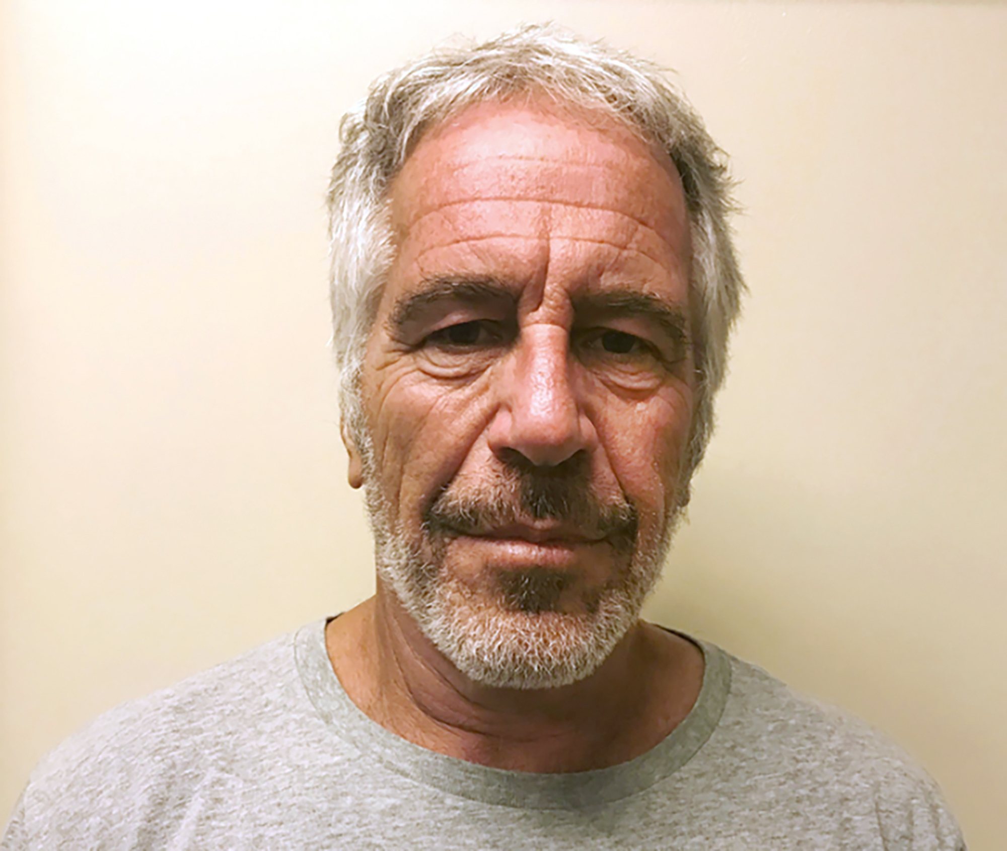 FILE - This March 28, 2017, file photo, provided by the New York State Sex Offender Registry shows Jeffrey Epstein. A judge is expected to discuss plans for the unsealing of more court records in a civil case involving sexual abuse claims against the financier Epstein. The hearing in Manhattan federal court Wednesday, Sept. 4, 2019, was ordered after a federal appeals court in New York ordered U.S. District Judge Loretta Preska to release the records after considering the privacy interests of third-parties. (New York State Sex Offender Registry via AP, File)