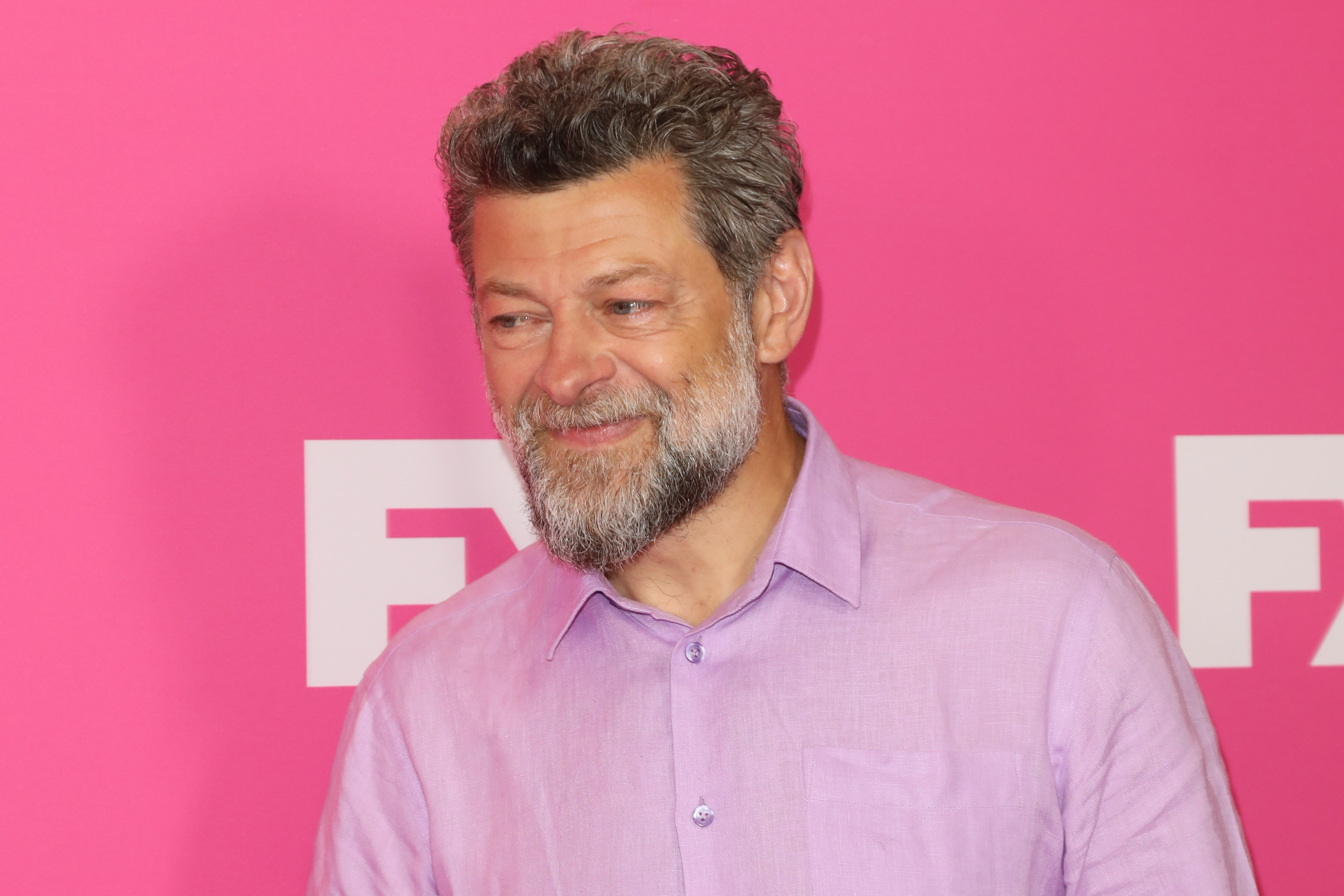 BEVERLY HILLS, CALIFORNIA - AUGUST 06:  Andy Serkis attends the FX Networks TCA's Starwalk Red Carpet at The Beverly Hilton Hotel on August 06, 2019 in Beverly Hills, California. (Photo by Paul Archuleta/FilmMagic)