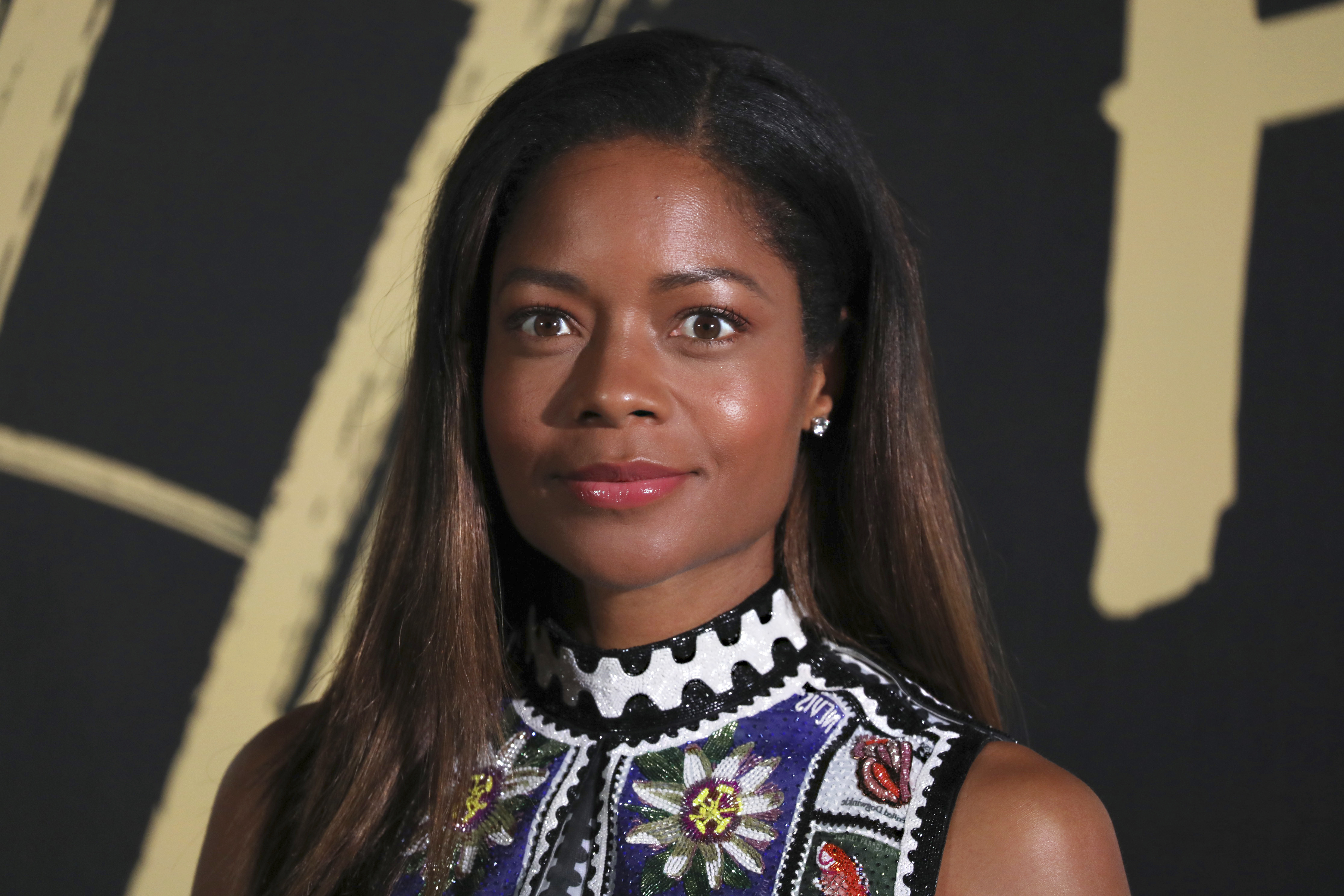 Actress Naomie Harris poses for photographers upon arrival at the Fashion For Relief charity event in central London, Saturday, Sept. 14, 2019. (Photo by Vianney Le Caer/Invision/AP)