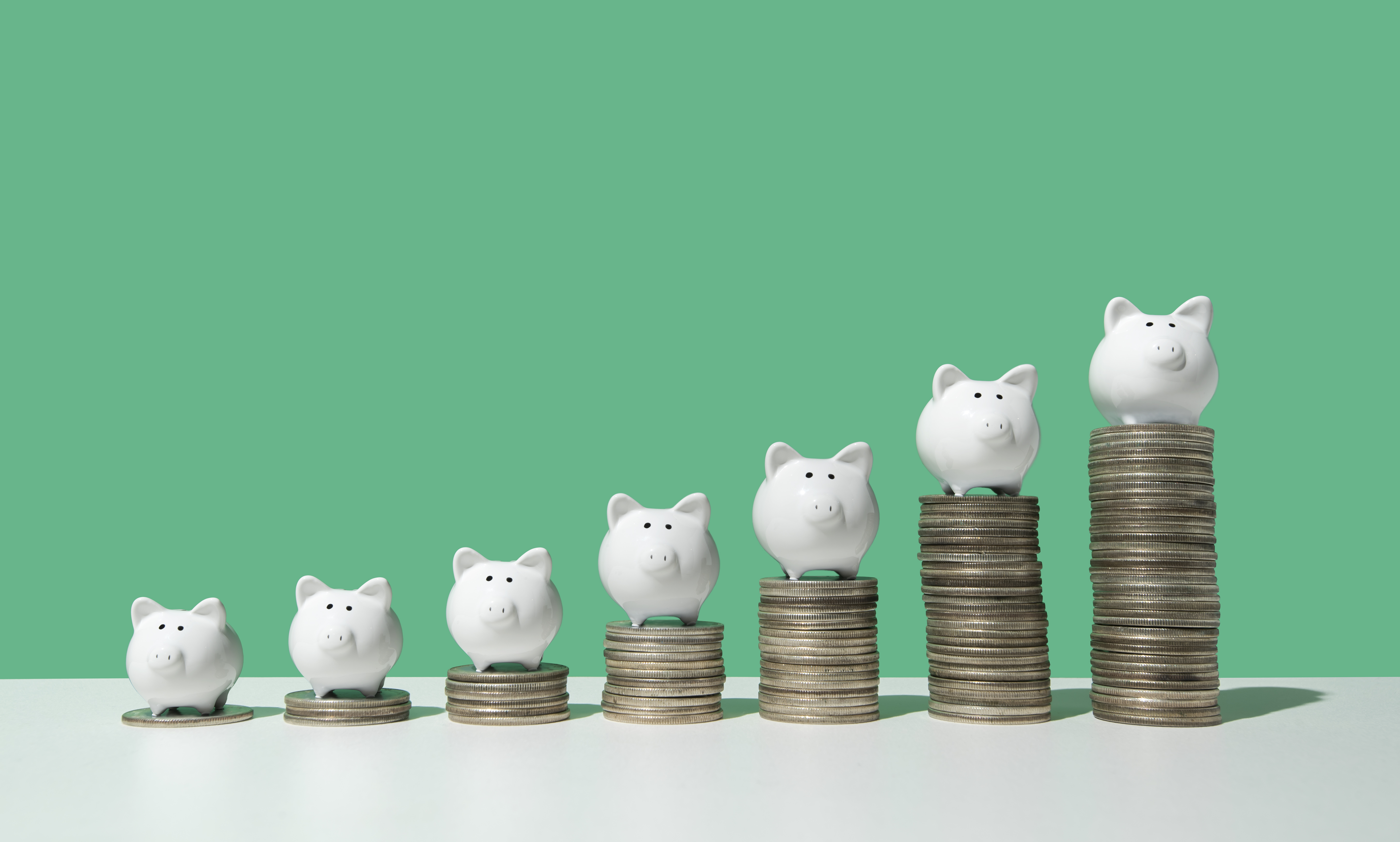 The longer you invest your money, the higher your interest payments will be. (Photo: Getty Images)