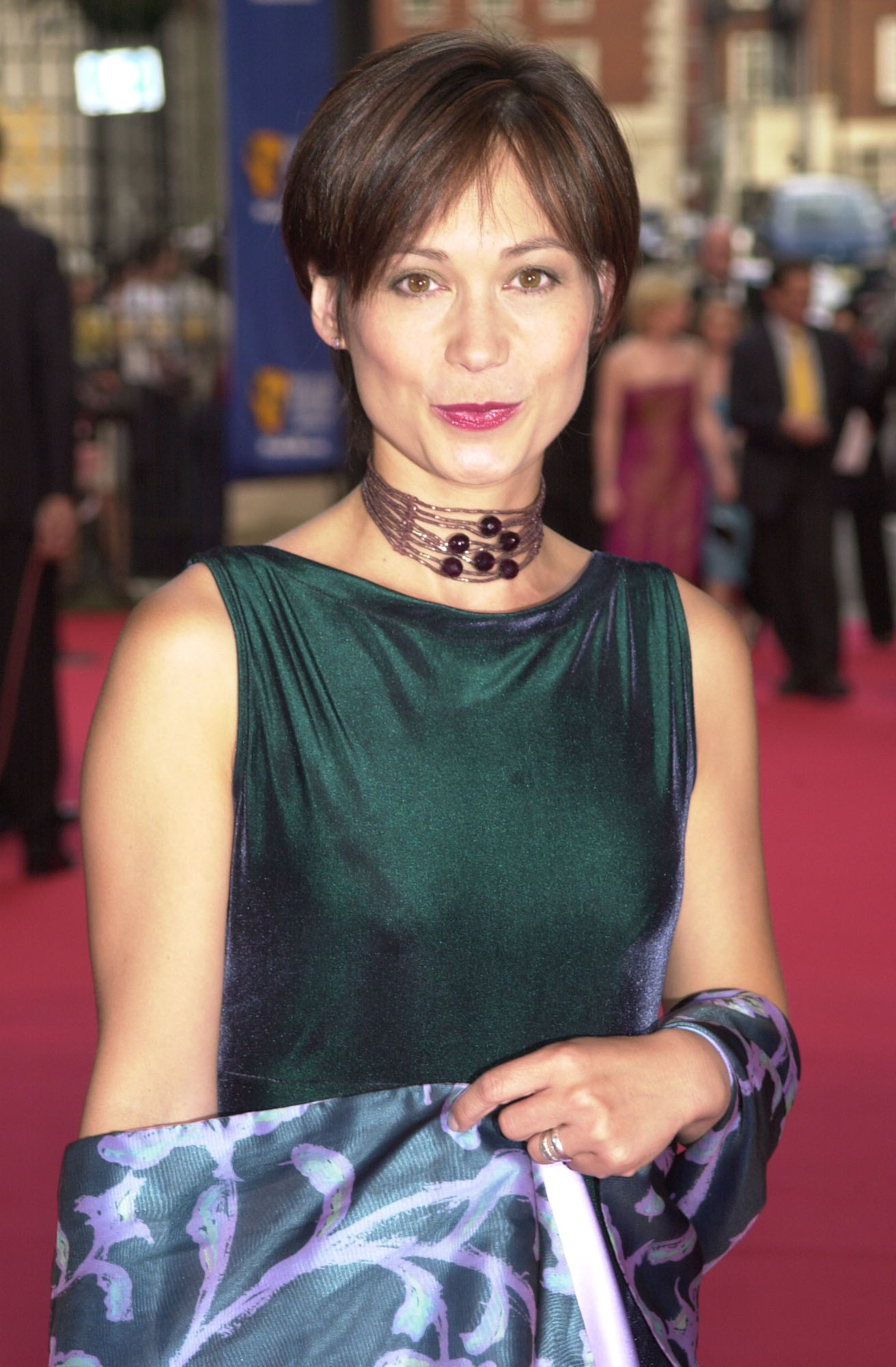 File photo dated 13/5/2001 of former Emmerdale star Leah Bracknell who, her manager said, has died three years after being diagnosed with stage 4 lung cancer.
