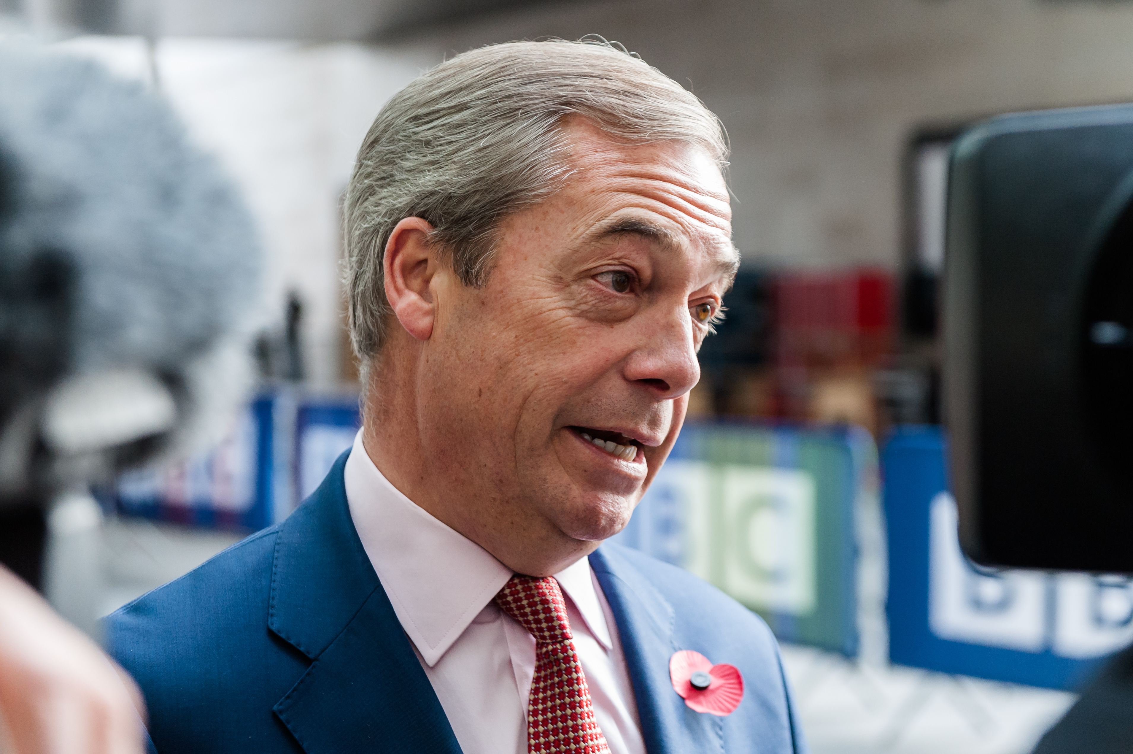Support for Nigel Farage's Brexit Party has fallen sharply (Picture: Getty)