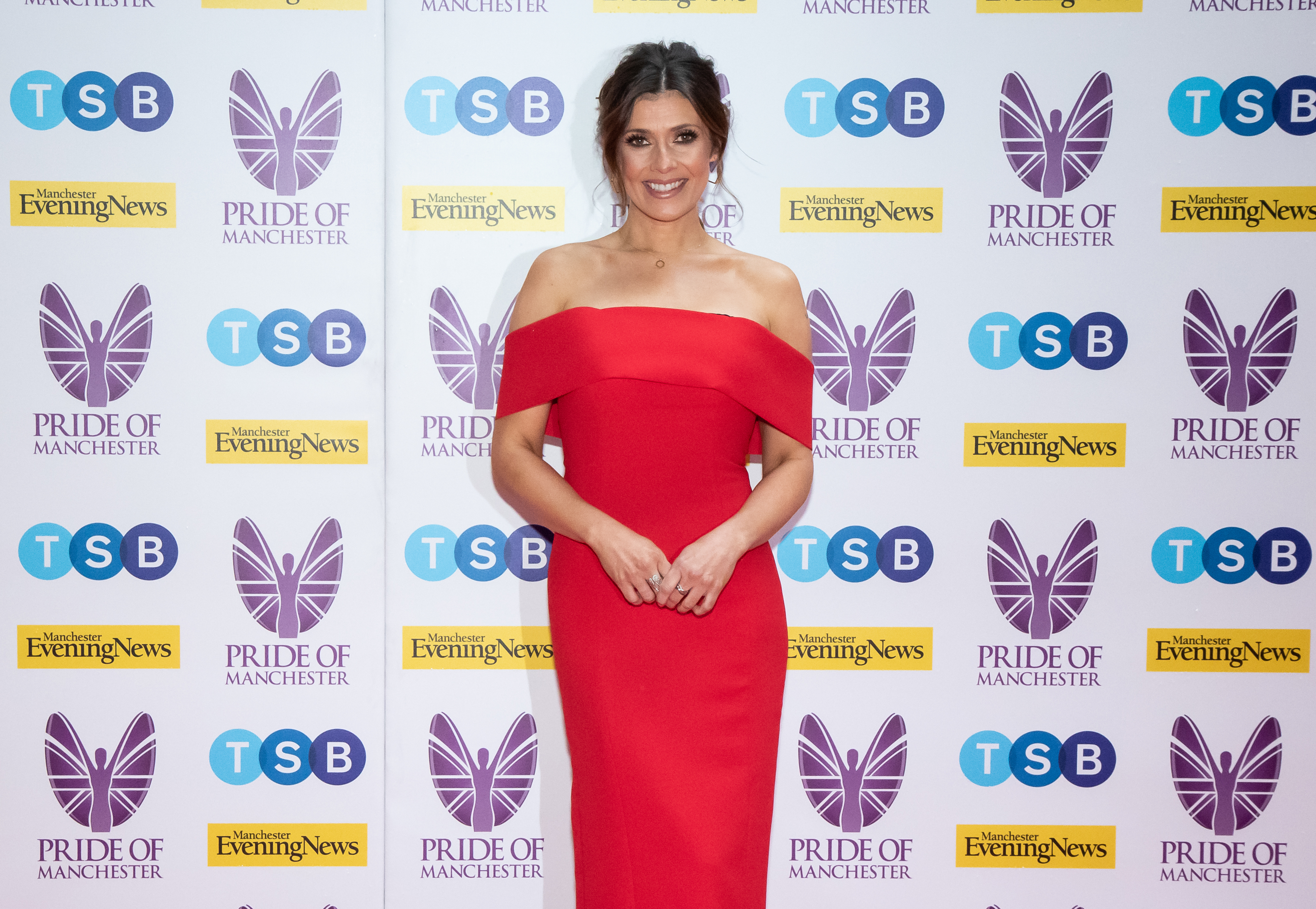 MANCHESTER, ENGLAND - MAY 08: Kym Marsh attends the Pride of Manchester Awards 2019 at Waterhouse Way on May 08, 2019 in Manchester, England. (Photo by Carla Speight/Getty Images)