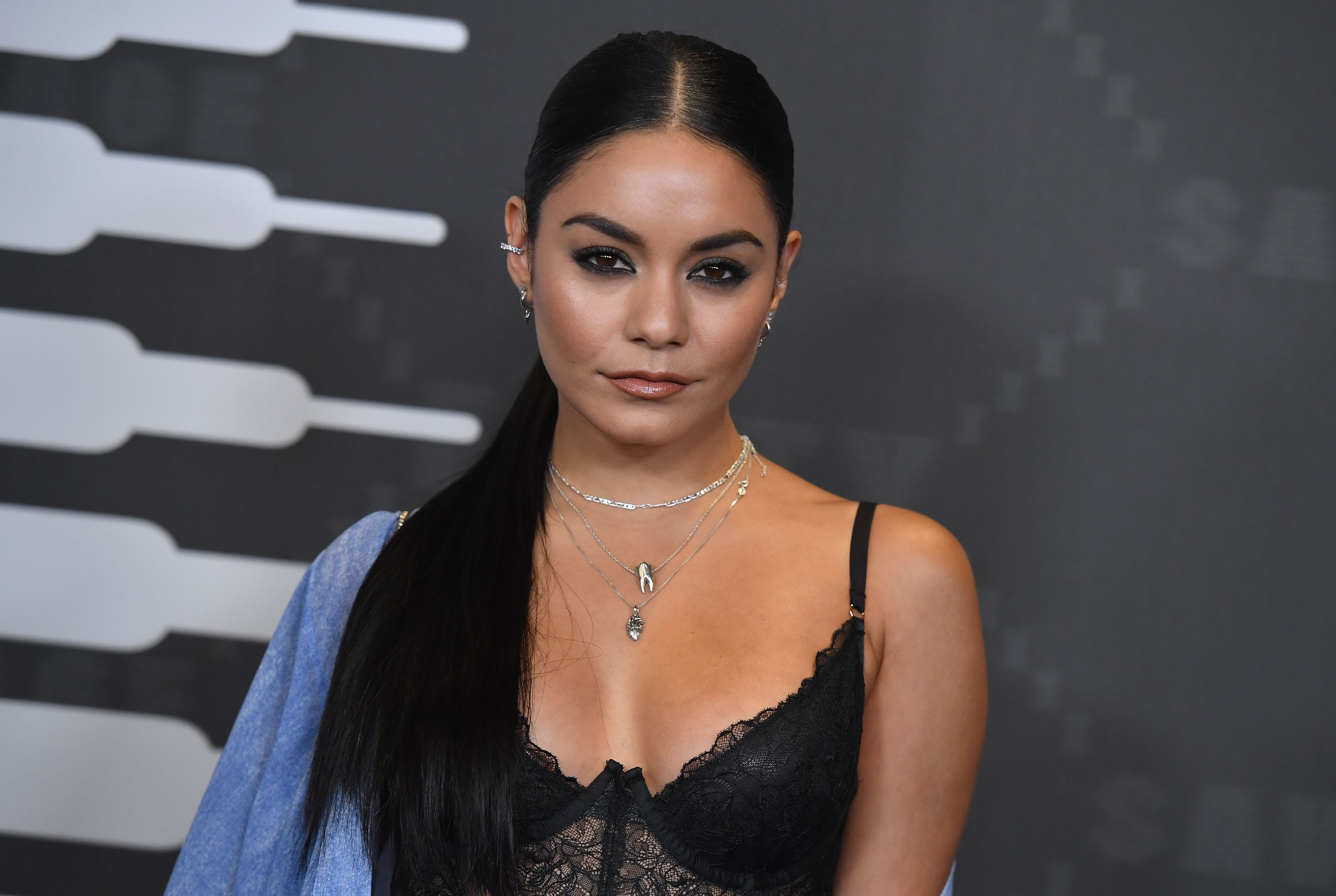 US singer Vanessa Hudgens arrives for the Savage X Fenty Show Presented By Amazon Prime Video at Barclays Center on September 10, 2019 in Brooklyn, New York. (Photo by Angela Weiss / AFP)        (Photo credit should read ANGELA WEISS/AFP via Getty Images)