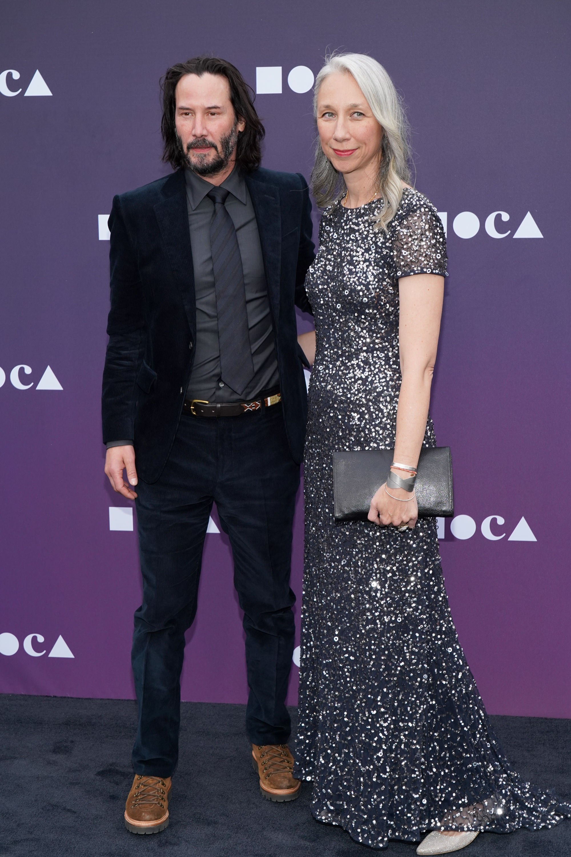 Keanu Reeves and Alexandra Grant attend the MOCA Benefit 2019 at The Geffen Contemporary at MOCA on May 18 in Los Angeles. (Photo: Rachel Luna/WireImage)