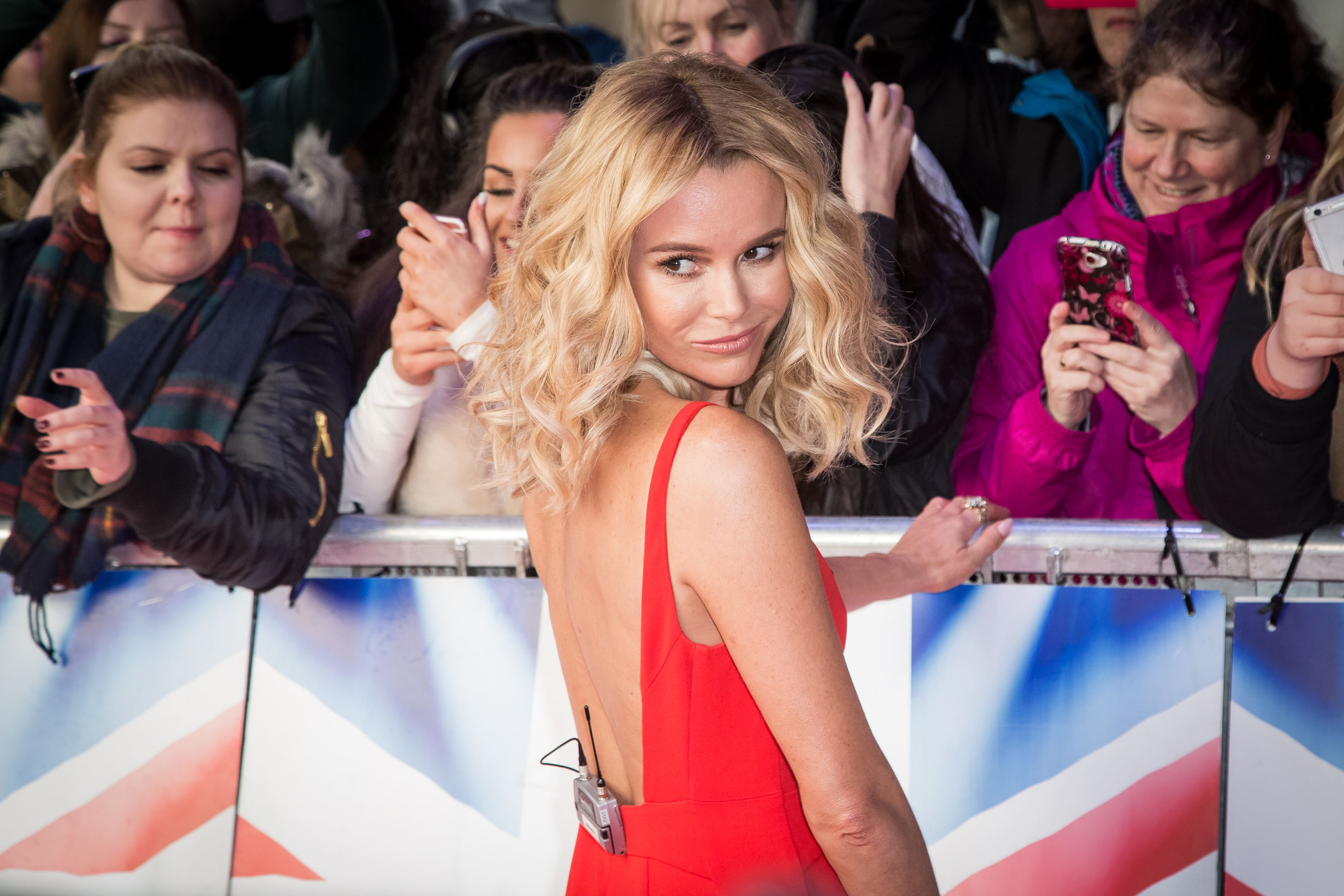 "Amanda Holden poses for photographers upon arrival at a photo call for ""Britain's Got Talent"" in London, Friday, Jan. 22, 2016. (Photo by Vianney Le Caer/Invision/AP)"