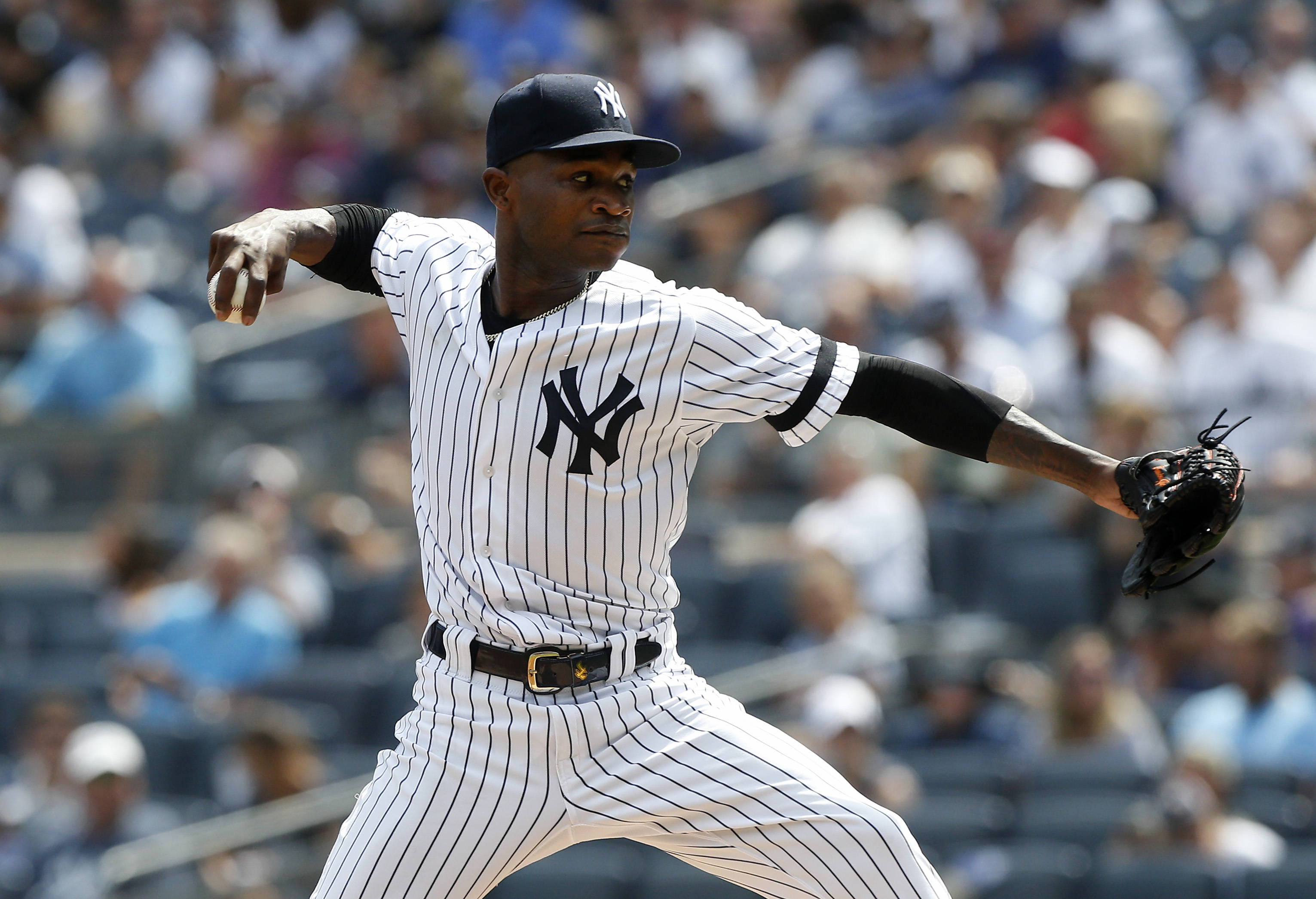 New York Yankees' Domingo German receives 81-game suspension
