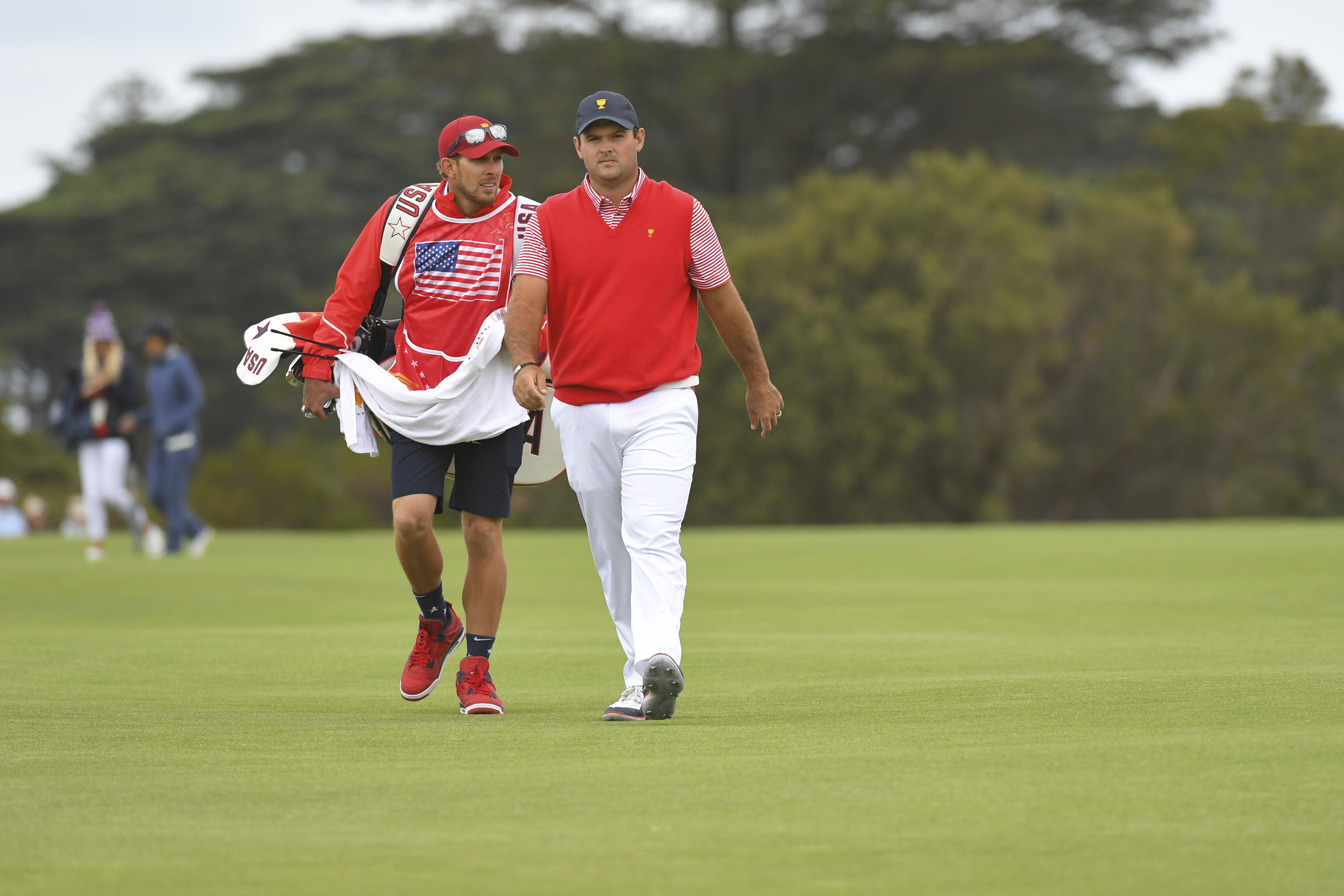 Patrick Reed and his caddie could be facing some serious consequences at the Presidents Cup.