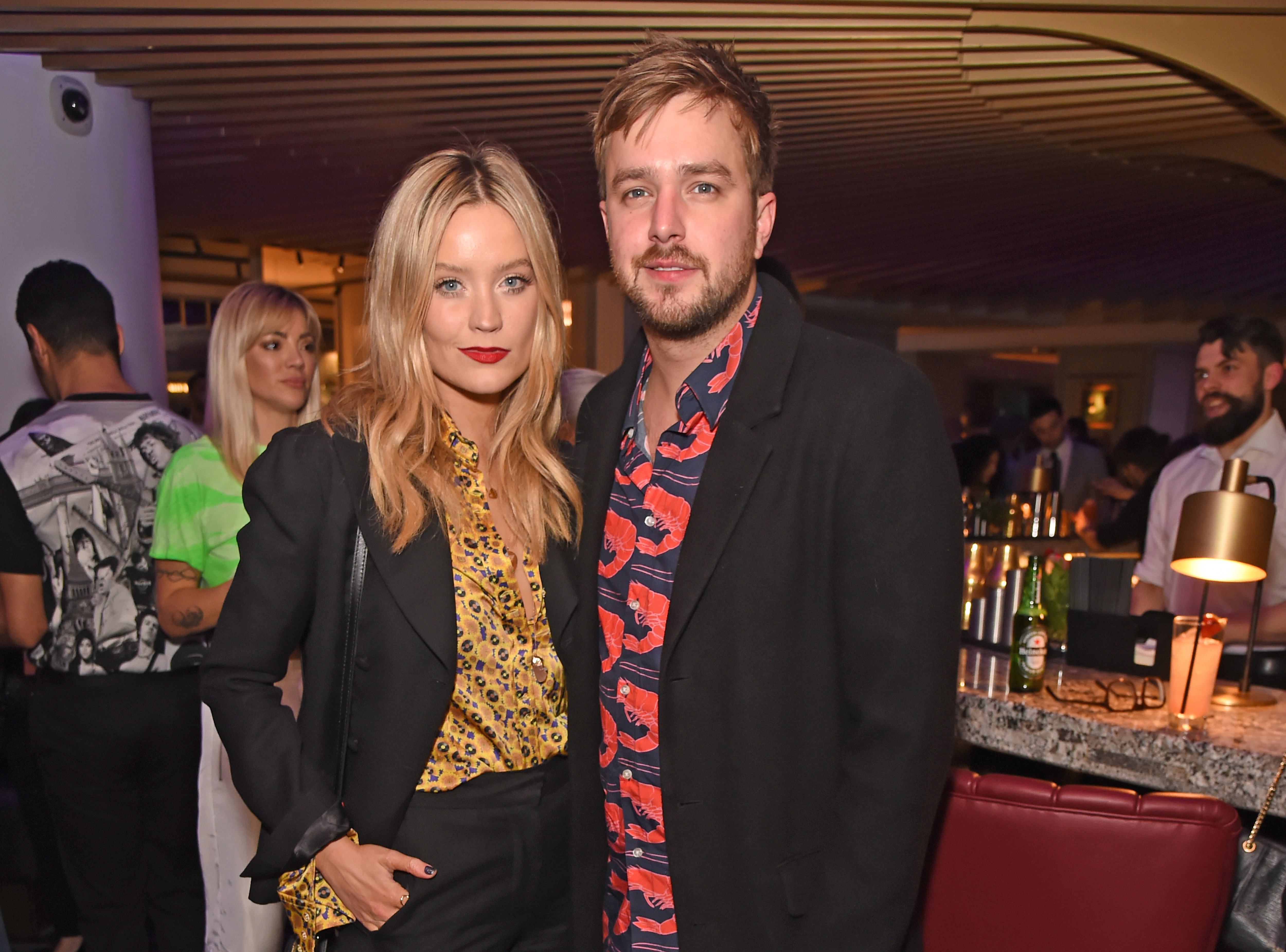 Laura Whitmore's boyfriend, Love Island narrator, Iain Stirling, was in South Africa at the time of Caroline's death
