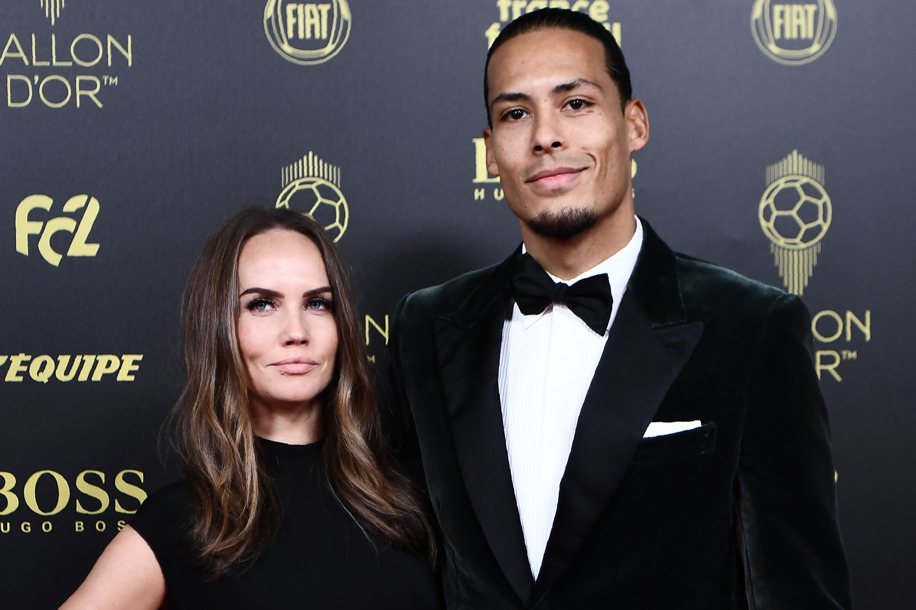 Liverpool defender Virgil van Dijk had a great year, but he knew the Ballon d'Or was Lionel Messi's to lose yet again. (Photo by ANNE-CHRISTINE POUJOULAT/AFP via Getty Images)