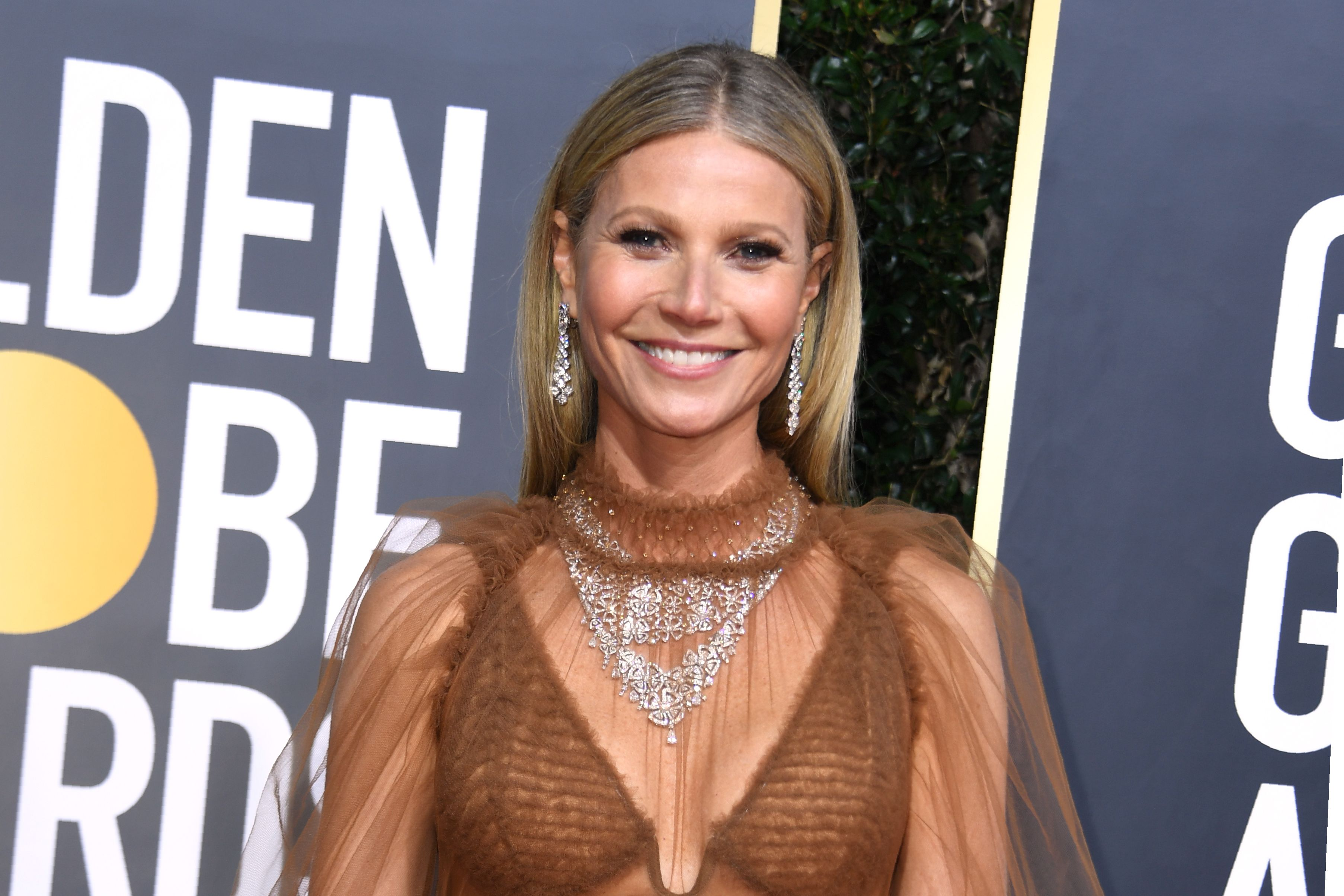 Gwyneth Paltrow posed in the buff for her 48th birthday. (Photo: VALERIE MACON/AFP via Getty Images)