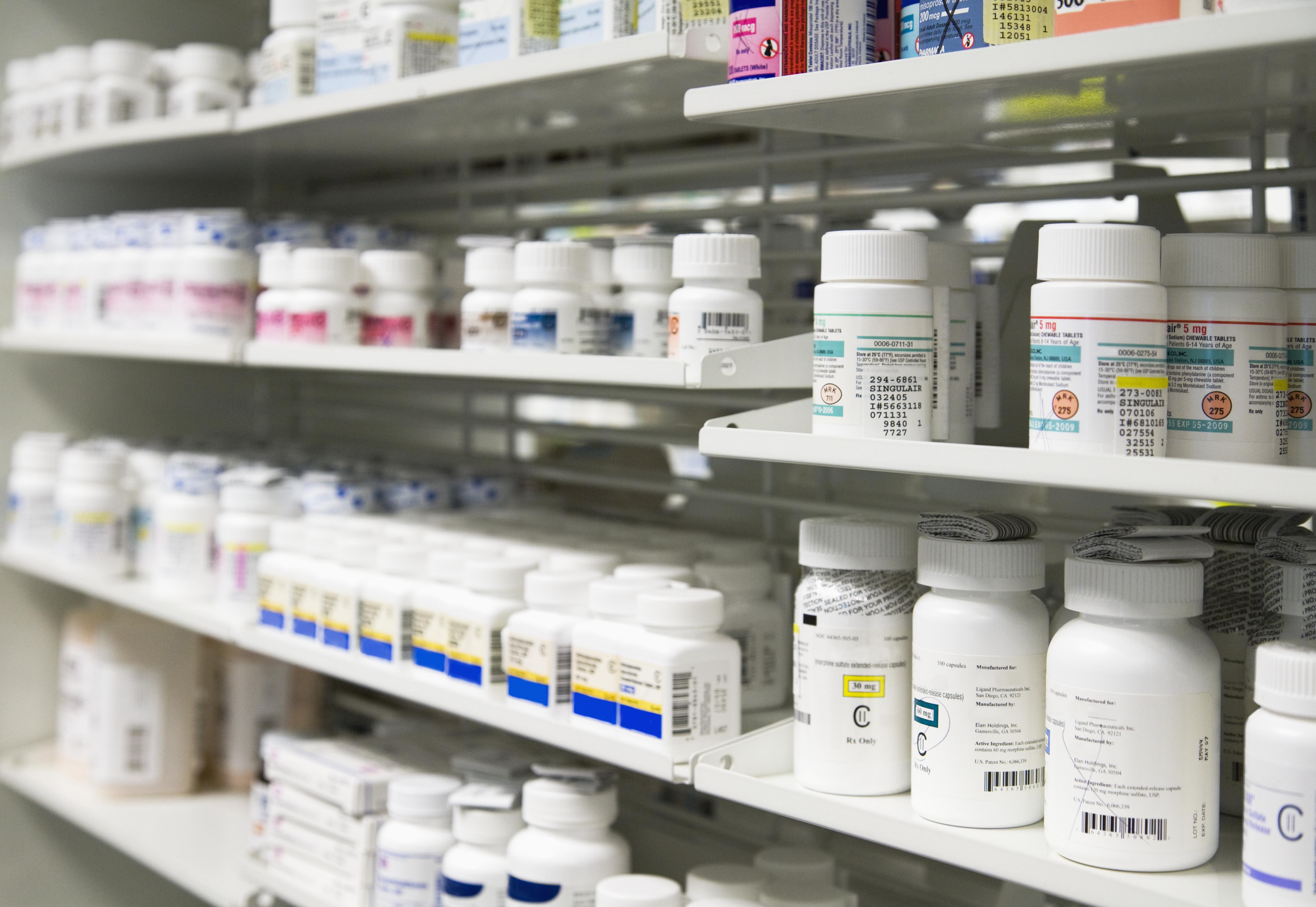 Medicine stock