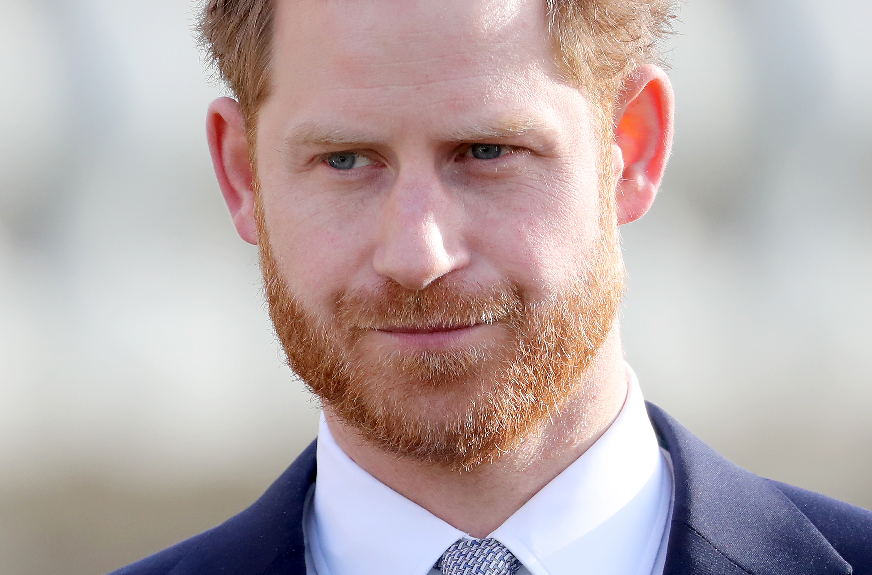 LONDON, ENGLAND - JANUARY 16: Prince Harry, Duke of Sussex hosts the Rugby League World Cup 2021 draws for the men's, women's and wheelchair tournaments at Buckingham Palace on January 16, 2020 in London, England. (Photo by Chris Jackson/Getty Images)