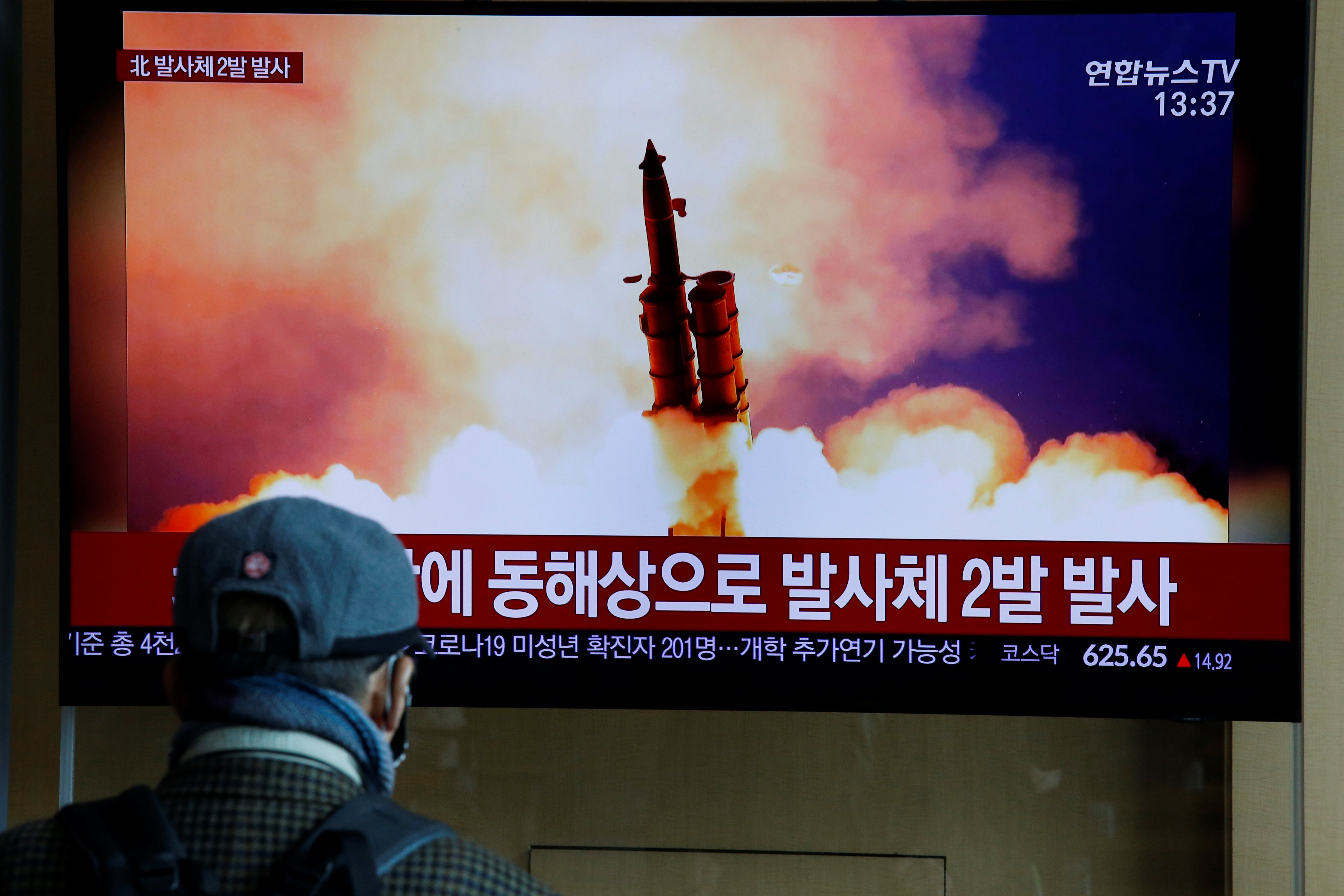 North Korea Launches 2 Unidentified Projectiles, South Korea Says