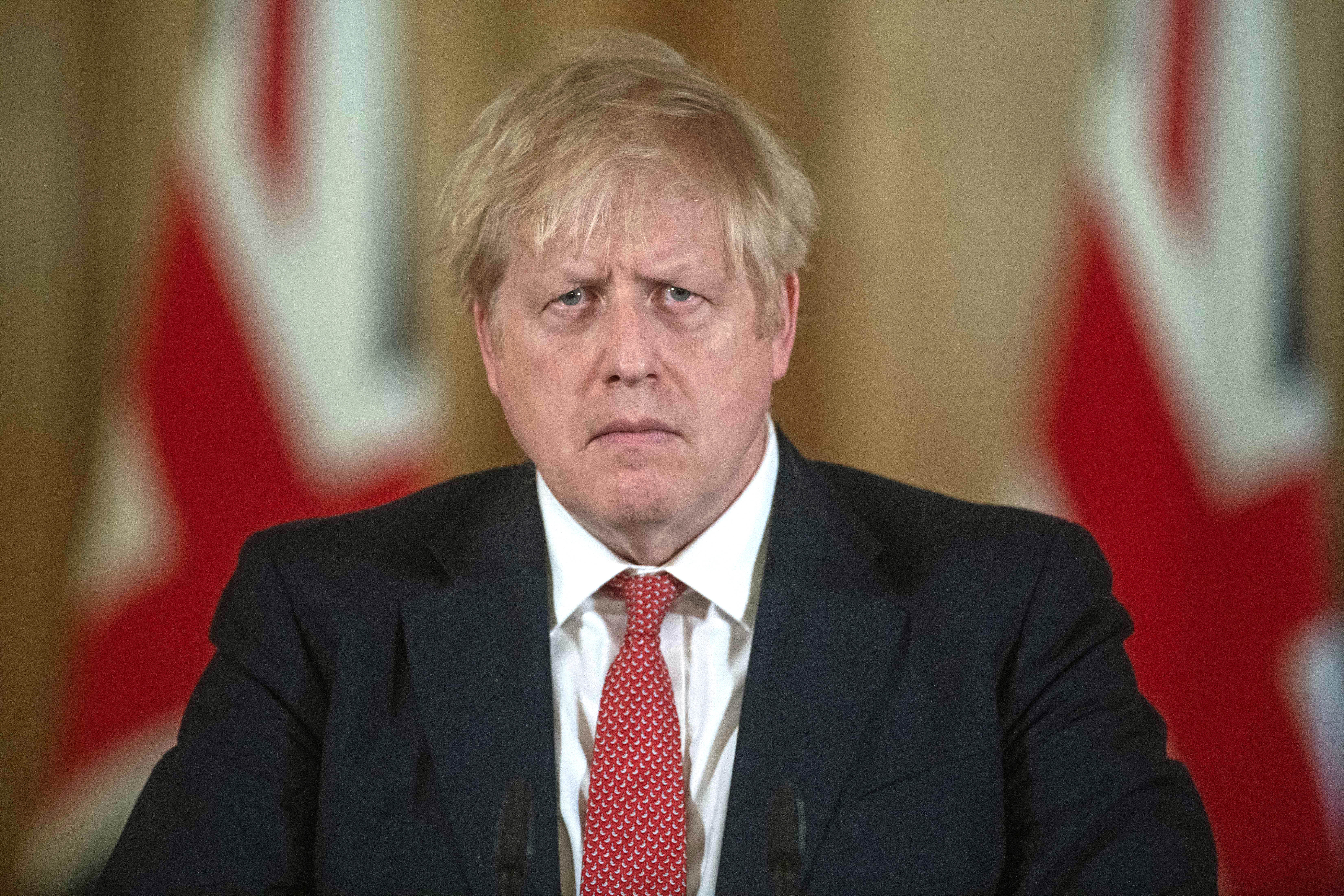 File photo dated 20/03/2020 of Boris Johnson who is set to return to work on Monday, but in the three weeks the Prime Minister has been away the battle against coronavirus has greatly changed.