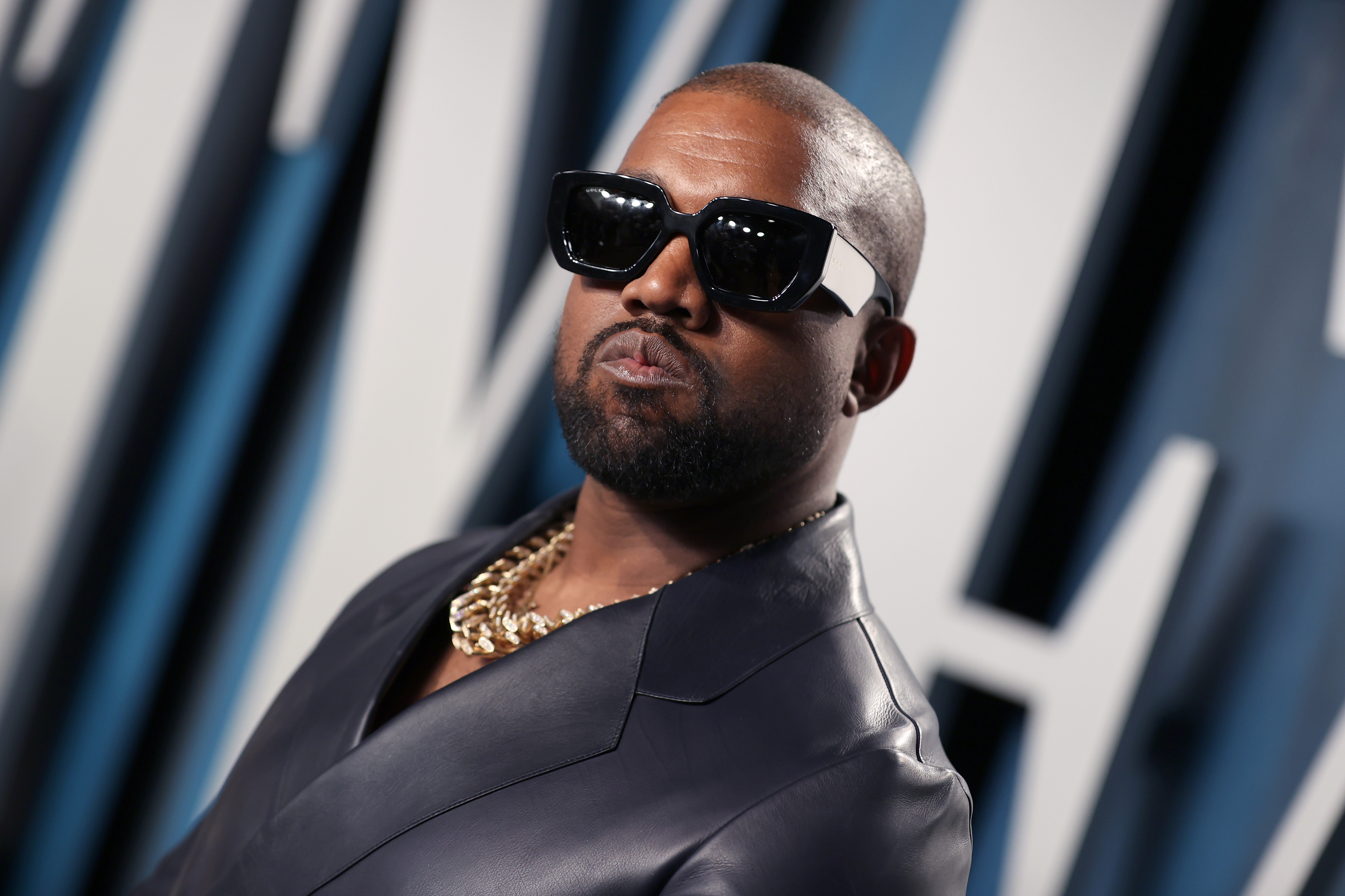 Kanye West seemingly urinates on Grammy award in rant calling the music industry modern day slavery
