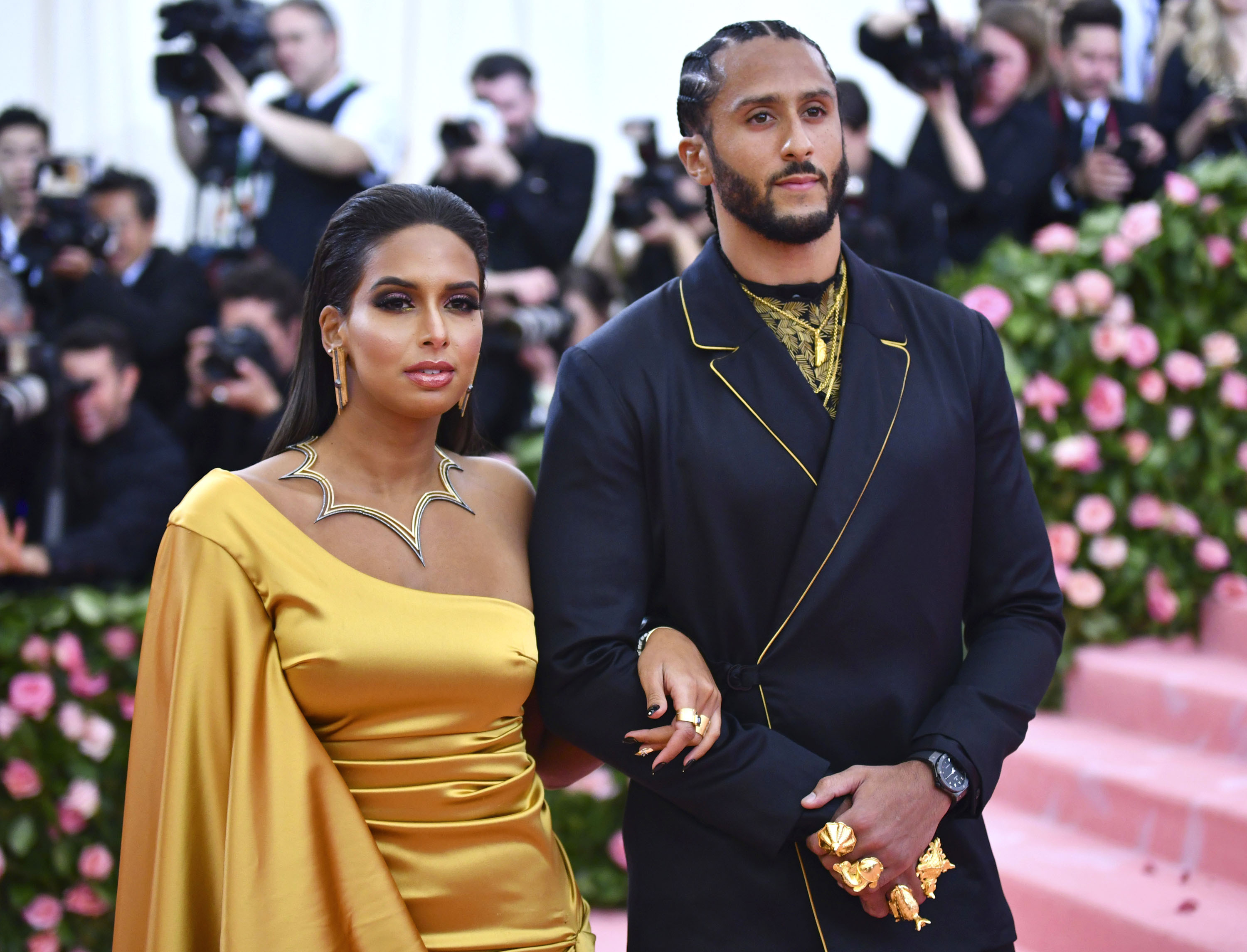 """Nessa Diab is not letting the NFL off the hook for calling Colin Kapernick """"retired."""" (Photo by Charles Sykes/Invision/AP)"""
