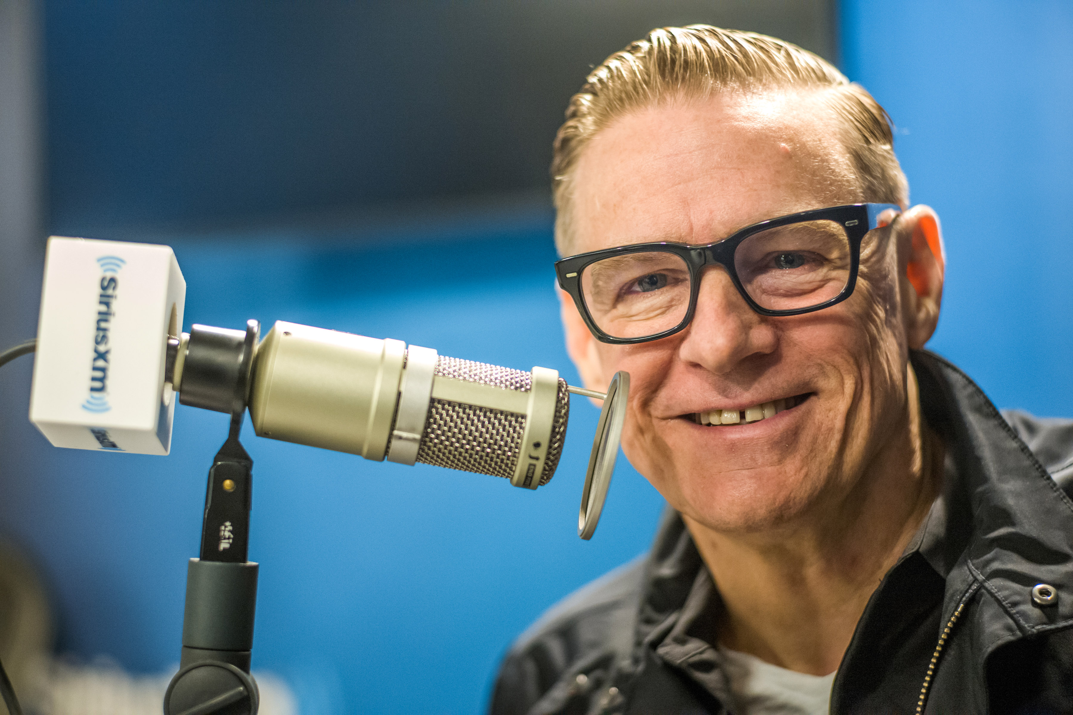 NEW YORK, NY - MAY 01:  (EXCLUSIVE COVERAGE) Bryan Adams visits SiriusXM Studios on May 1, 2019 in New York City.  (Photo by Steven Ferdman/Getty Images)