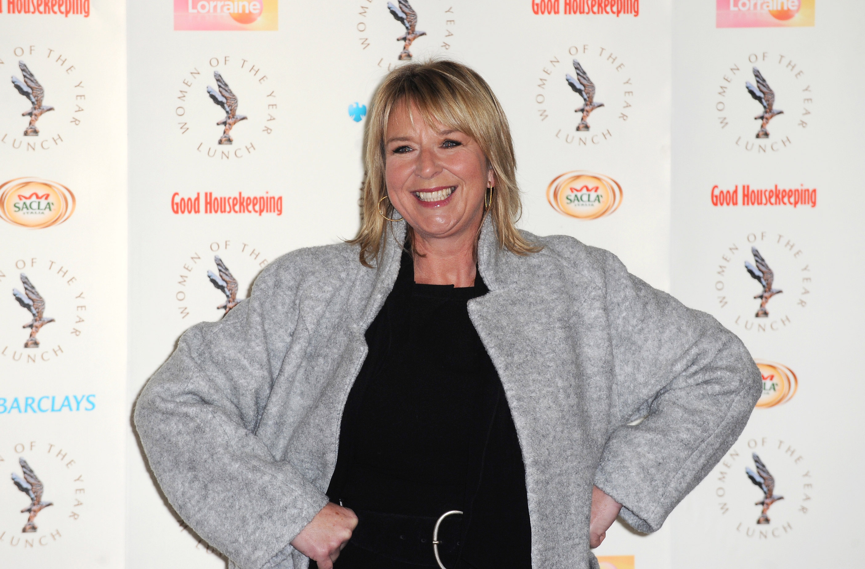 Fern Britton attends the Women of the Year lunch at Intercontinental Hotel on October 14, 2013 in London, England  (Photo by Ferdaus Shamim/WireImage)