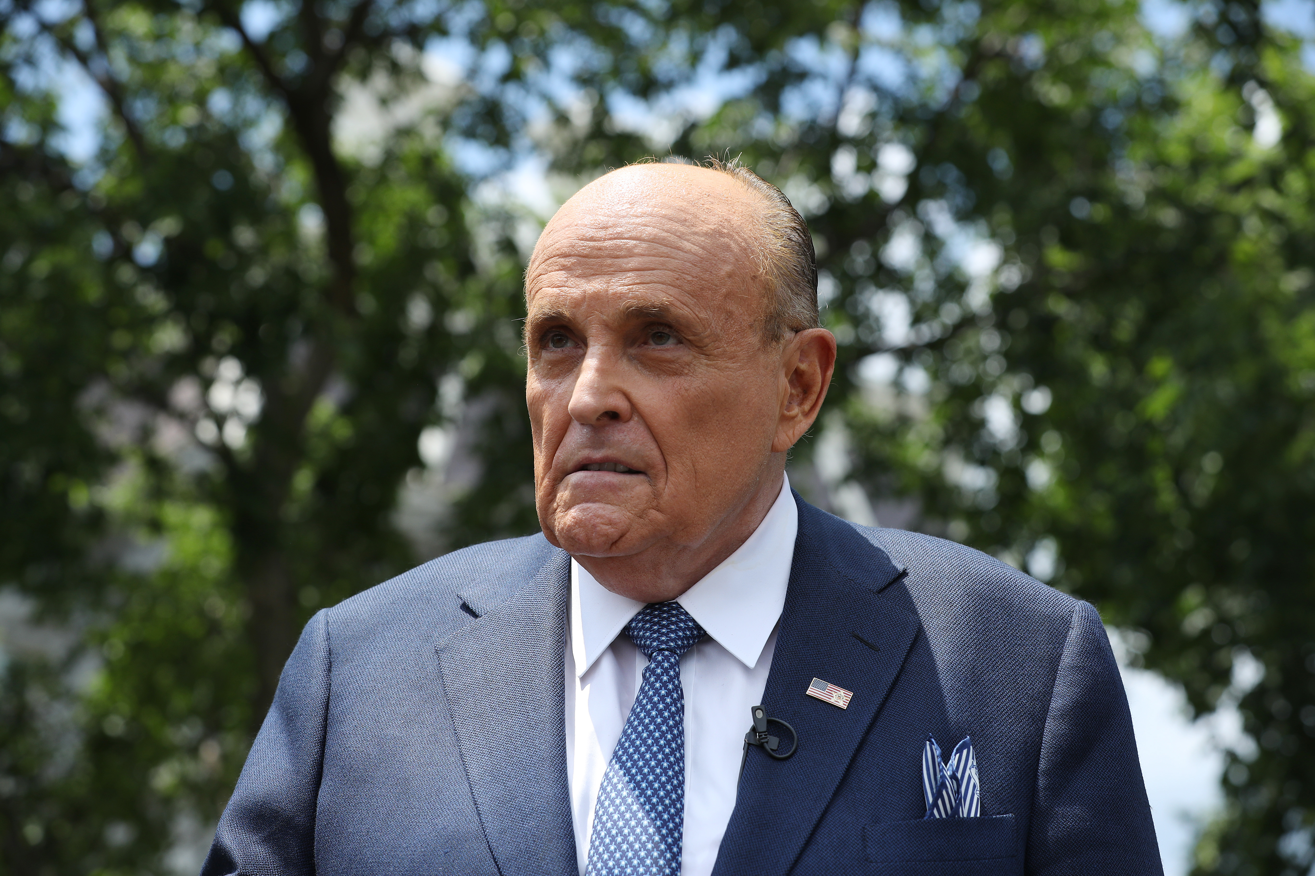 Caught in shocking Borat 2 bedroom scene with young woman, Rudy Giuliani claims hes the victim: Everybody in Hollywood hates me