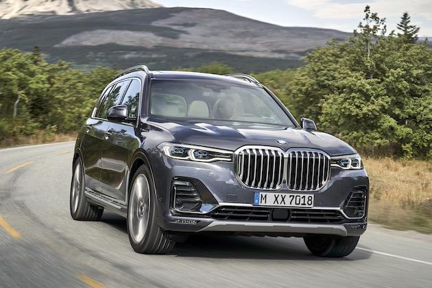 BMW、最大サイズのキドニー・グリルを持つ高級SUV「X7」を発表!
