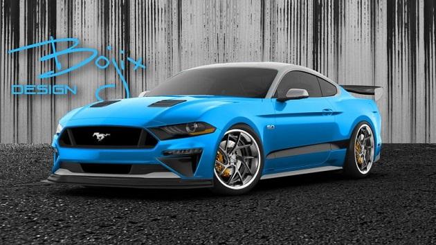 Official:                     フォード、異なるチューナーが手掛けた5台の「マスタング」をSEMAショー 2018に出展!