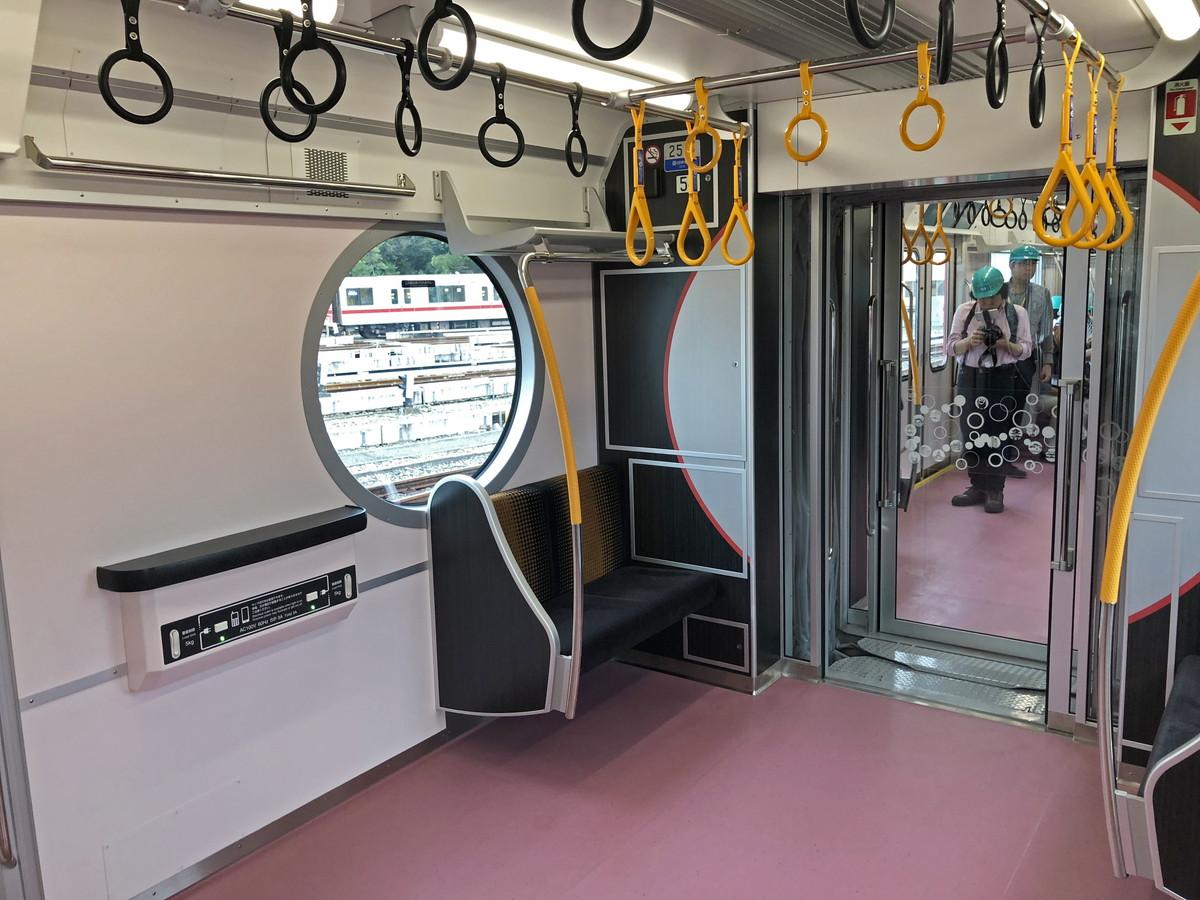 東京メトロ2000系フリースペース