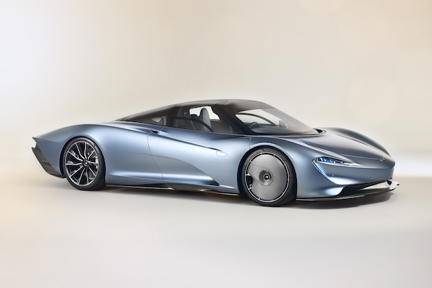 マクラーレン、最高速度400km/hを超える3人乗りハイパーGT「スピードテール」を公開!