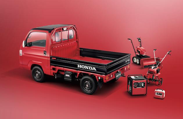 ホンダ、軽商用車「アクティ・トラック」に「青×白」「赤×黒」2種類の特別仕様車を設定