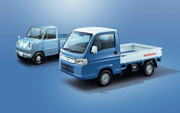 HONDA ACTY TRUCK TOWN SPIRIT COLOR STYLE