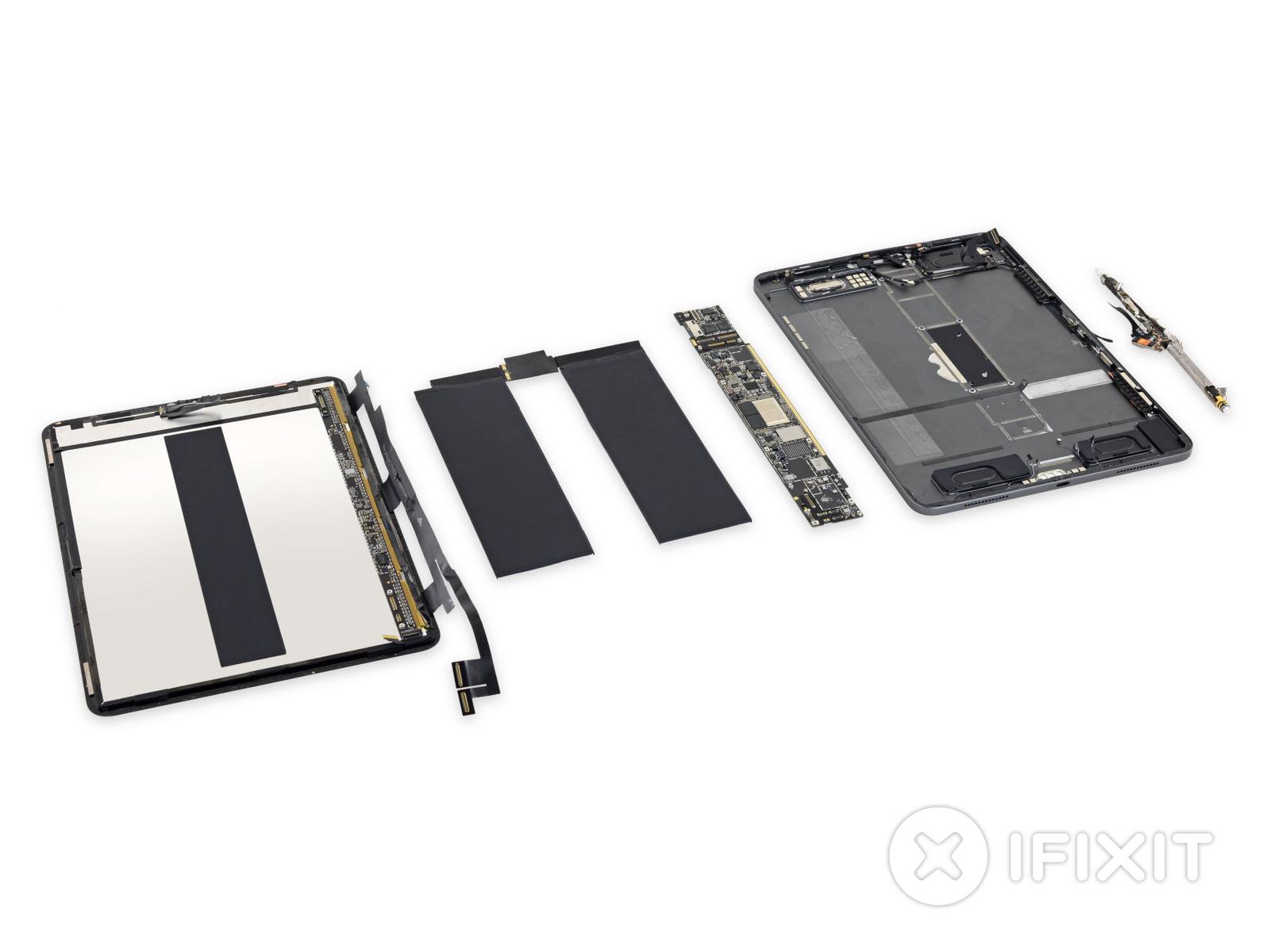 新iPad Proもバラバラに。iFixitが分解レポートを公開~バッテリー小型化、磁石は大量、修理しやすさは厳しめ評価