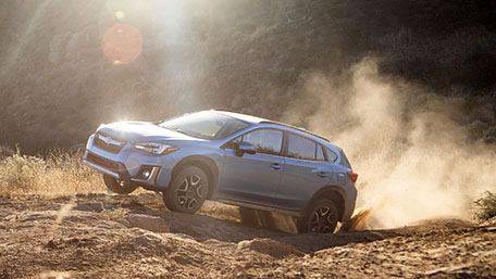 2019 Subaru Crosstrek Hybrid road test and driving