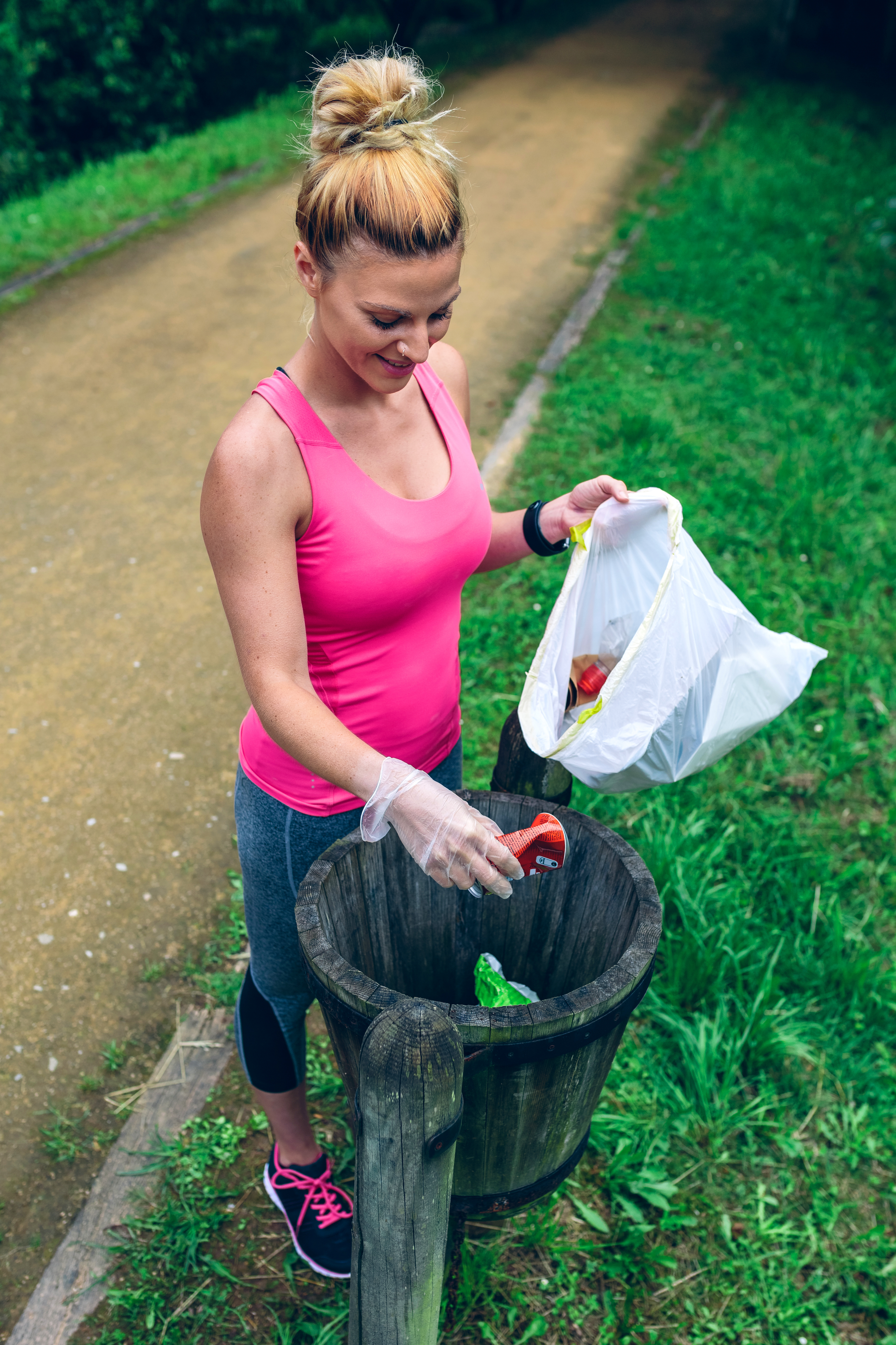 Local councils are spreading the word to 'unbag your