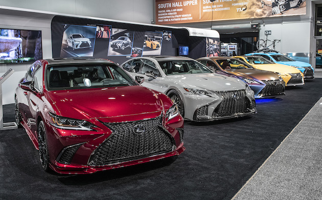 Lexus Customs at SEMA 2018