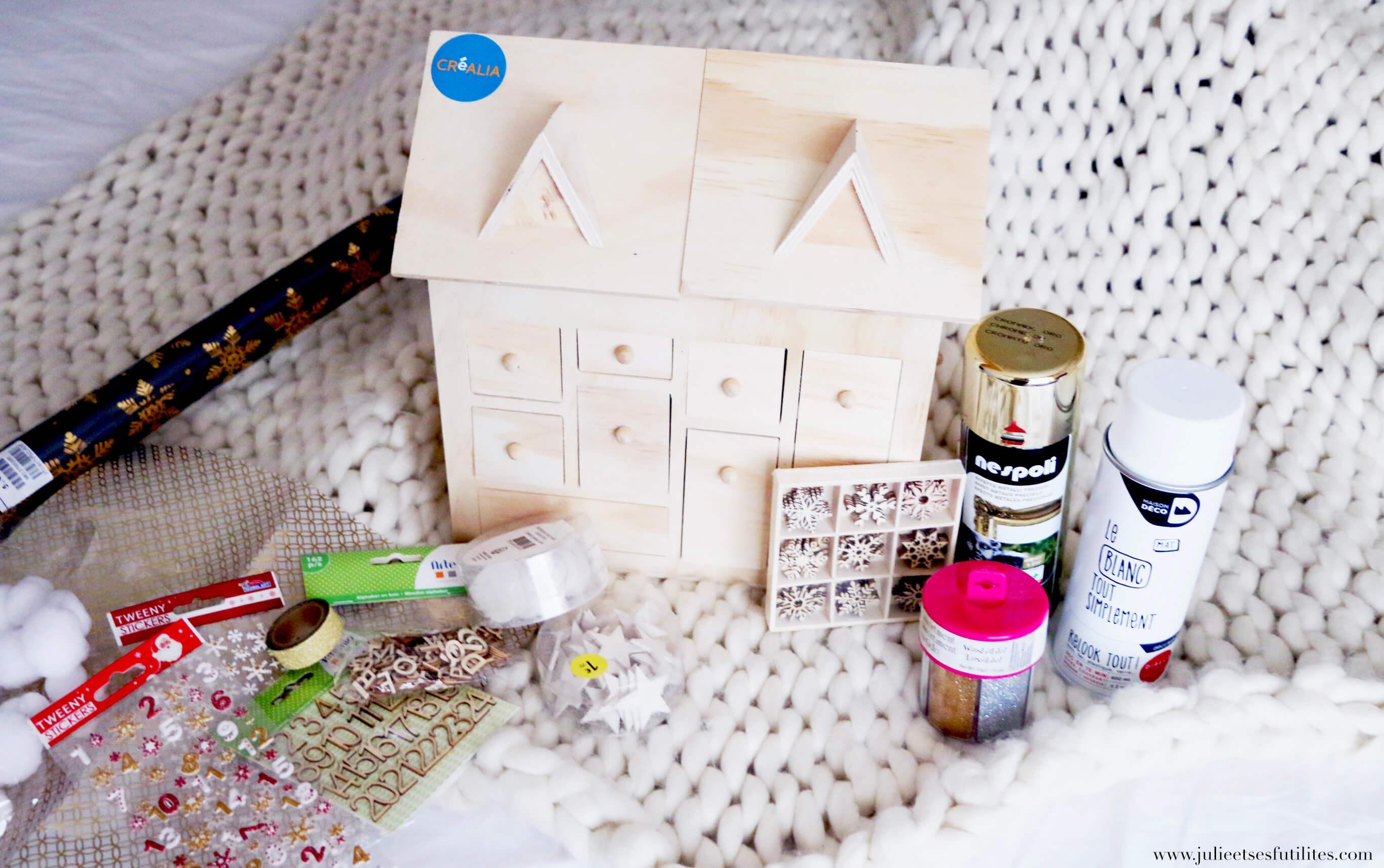 Comment Faire Un Calendrier Fait Maison comment réaliser un calendrier de l'avent beau et simple