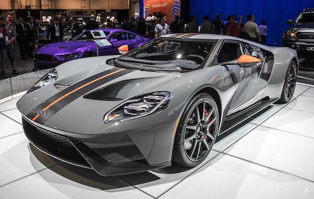 【SEMA2018】フォードがスーパーカー「GT」の最軽量仕様となる「GT カーボン・シリーズ」を公開!