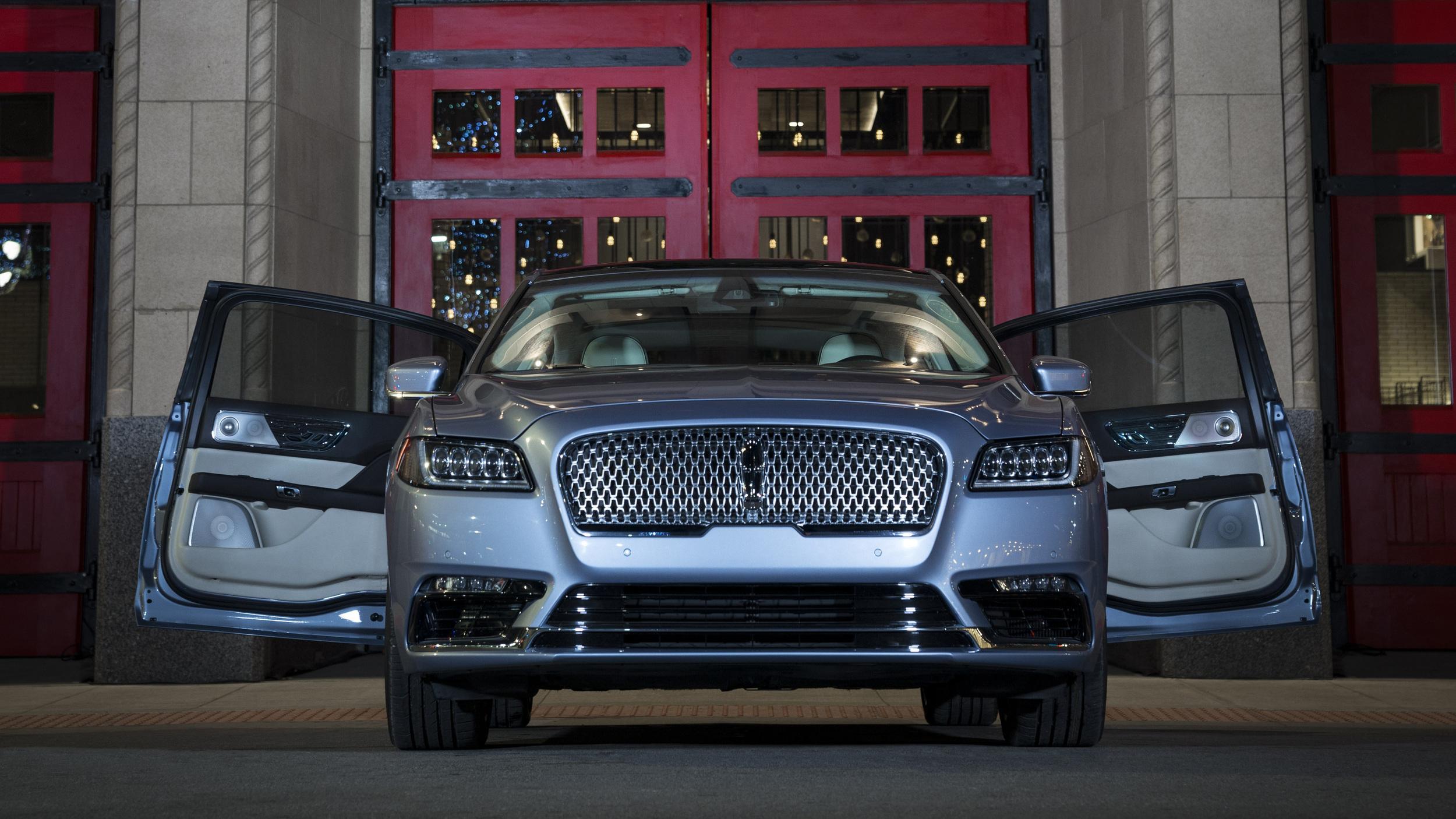 Lincoln Continental 80th Anniversary Coach Door Edition