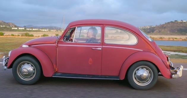 Volkswagen restores Kathleen Brooks 1967 Beetle