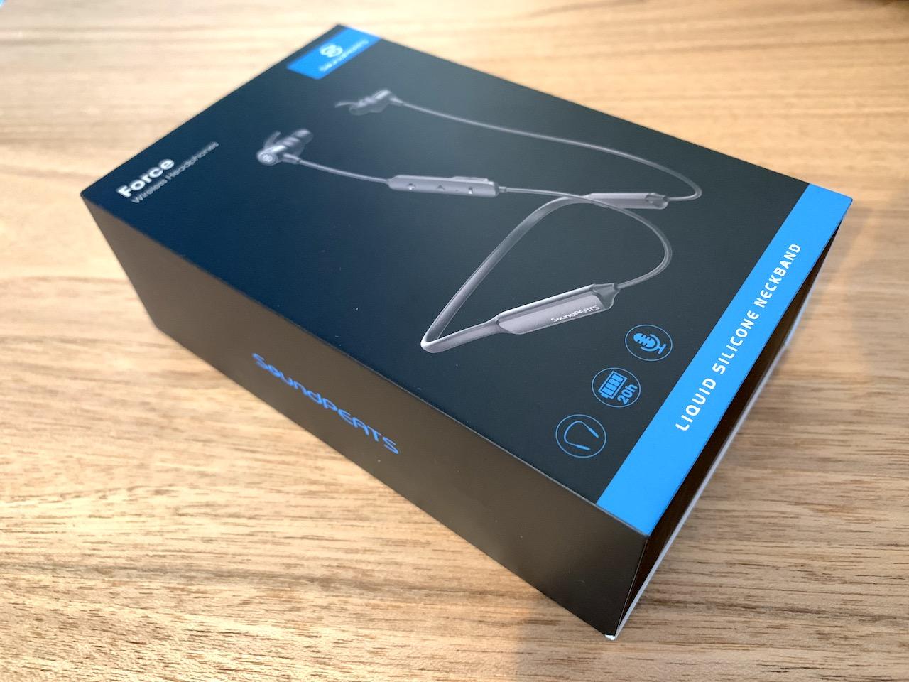 SoundPEATS FORCE」 は20時間連続再生&防水。プチプラ高性能Bluetooth