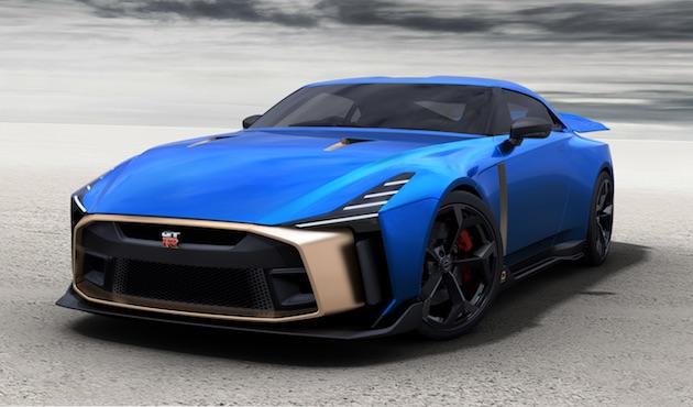 日産、「GT-R50 by Italdesign」の市販モデルを公開! 限定50台で価格は約1億2,700万円