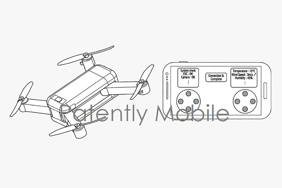 Samsung Drone Patent